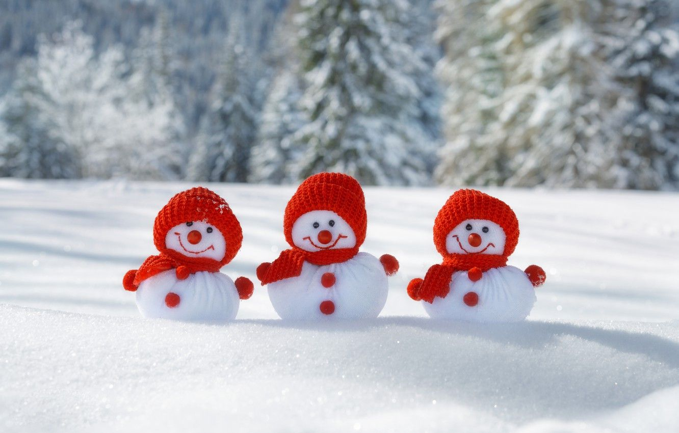 free snowmen wallpapers hd