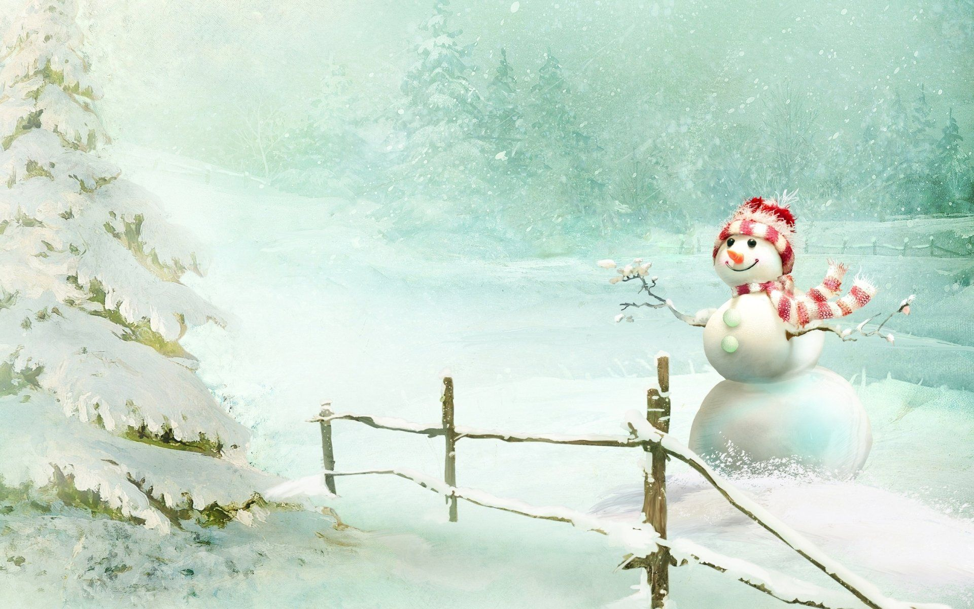 free snowman pictures