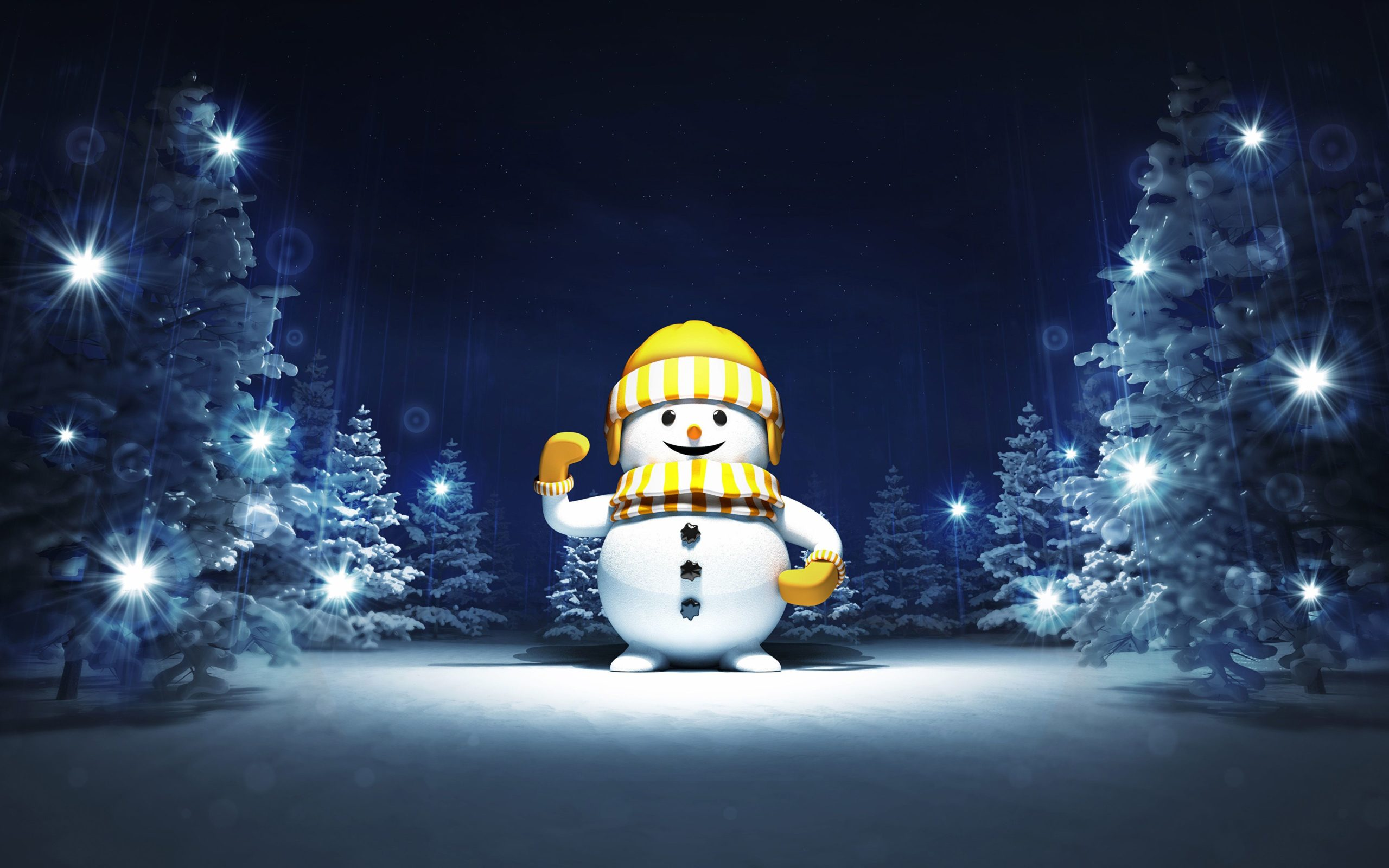 winter snowmen wallpapers