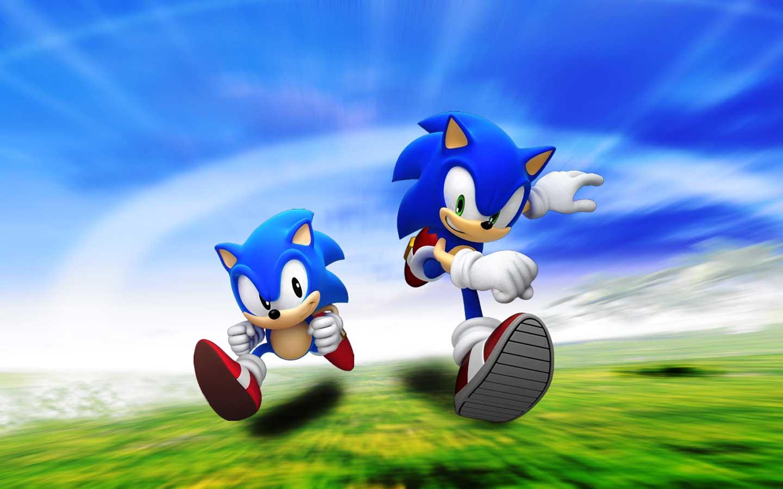 Sonic game Wallpaper 4k