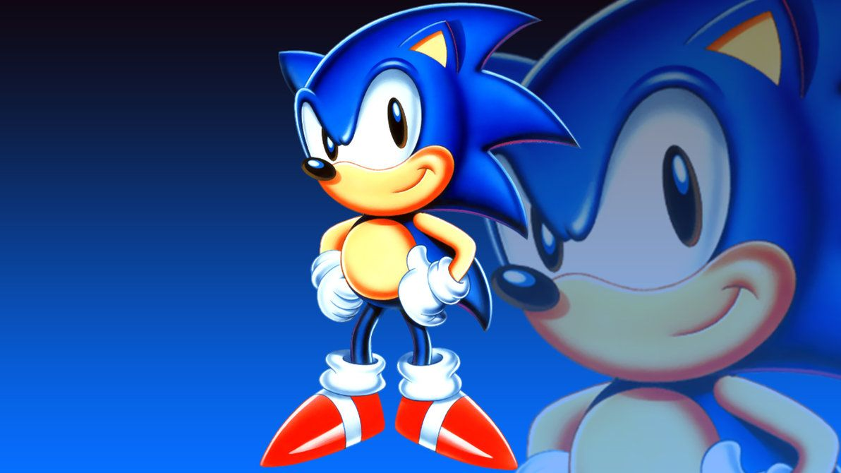 sonic wall paper