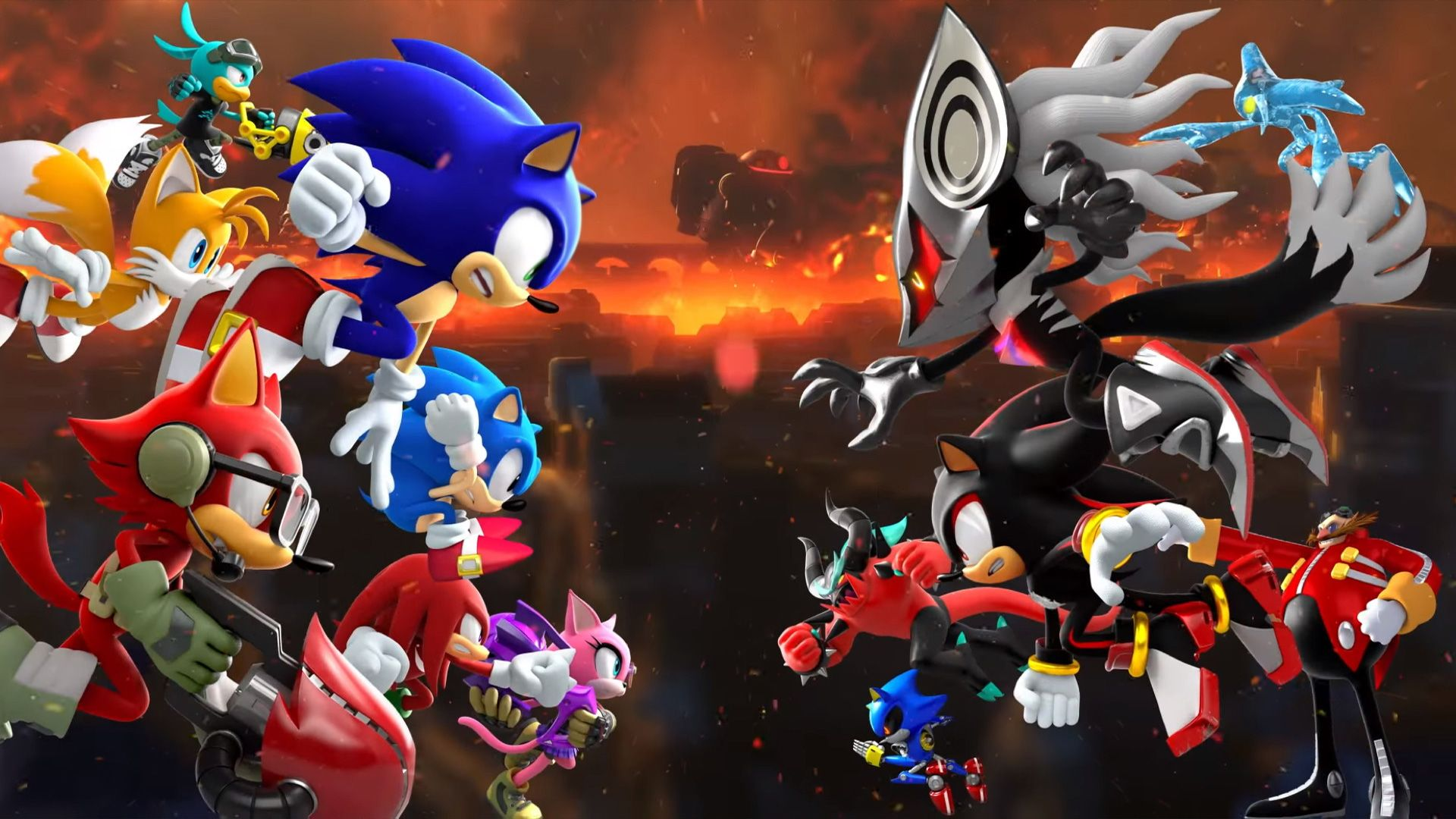awesome sonic wallpapers