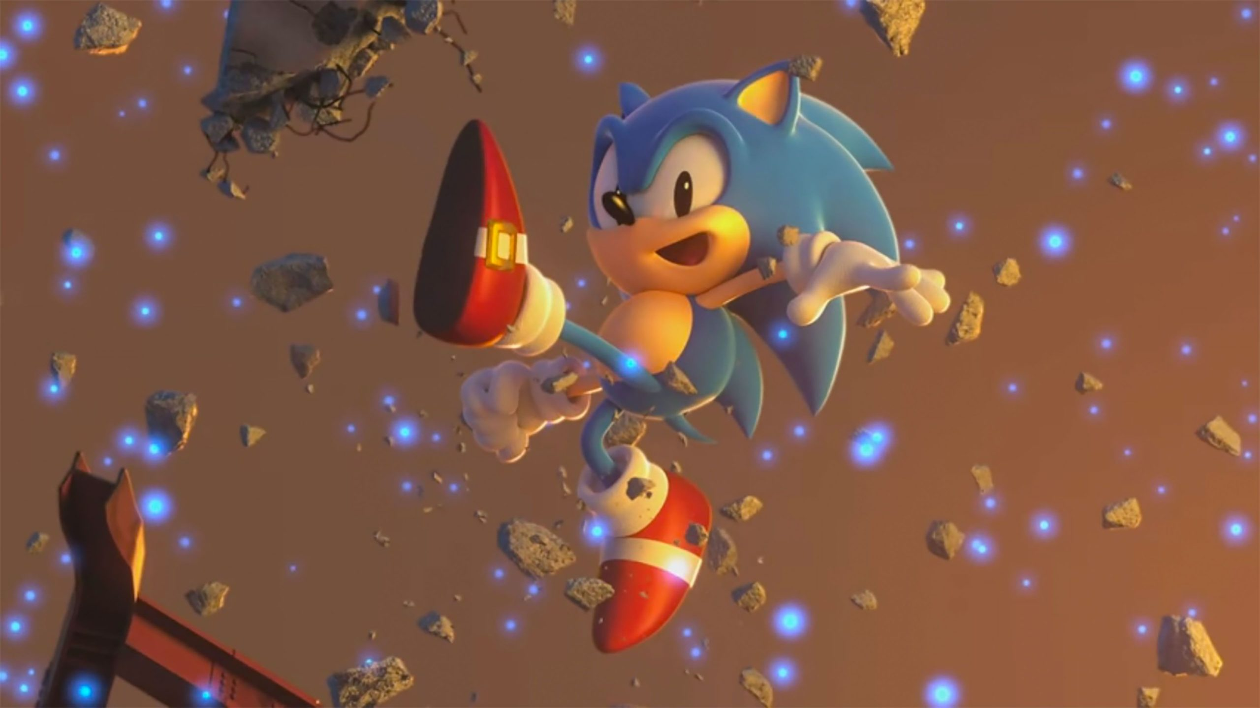 sonic the screen saver
