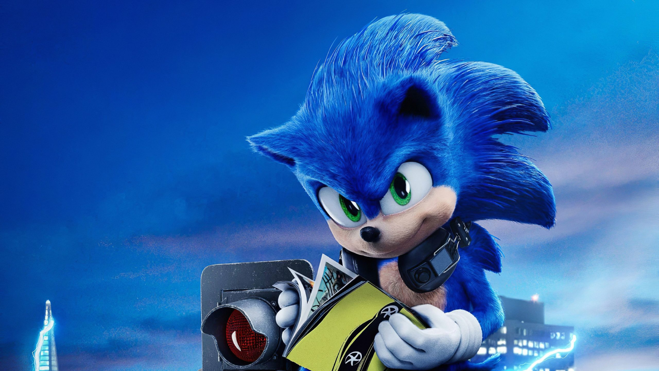 sonic screensaver images
