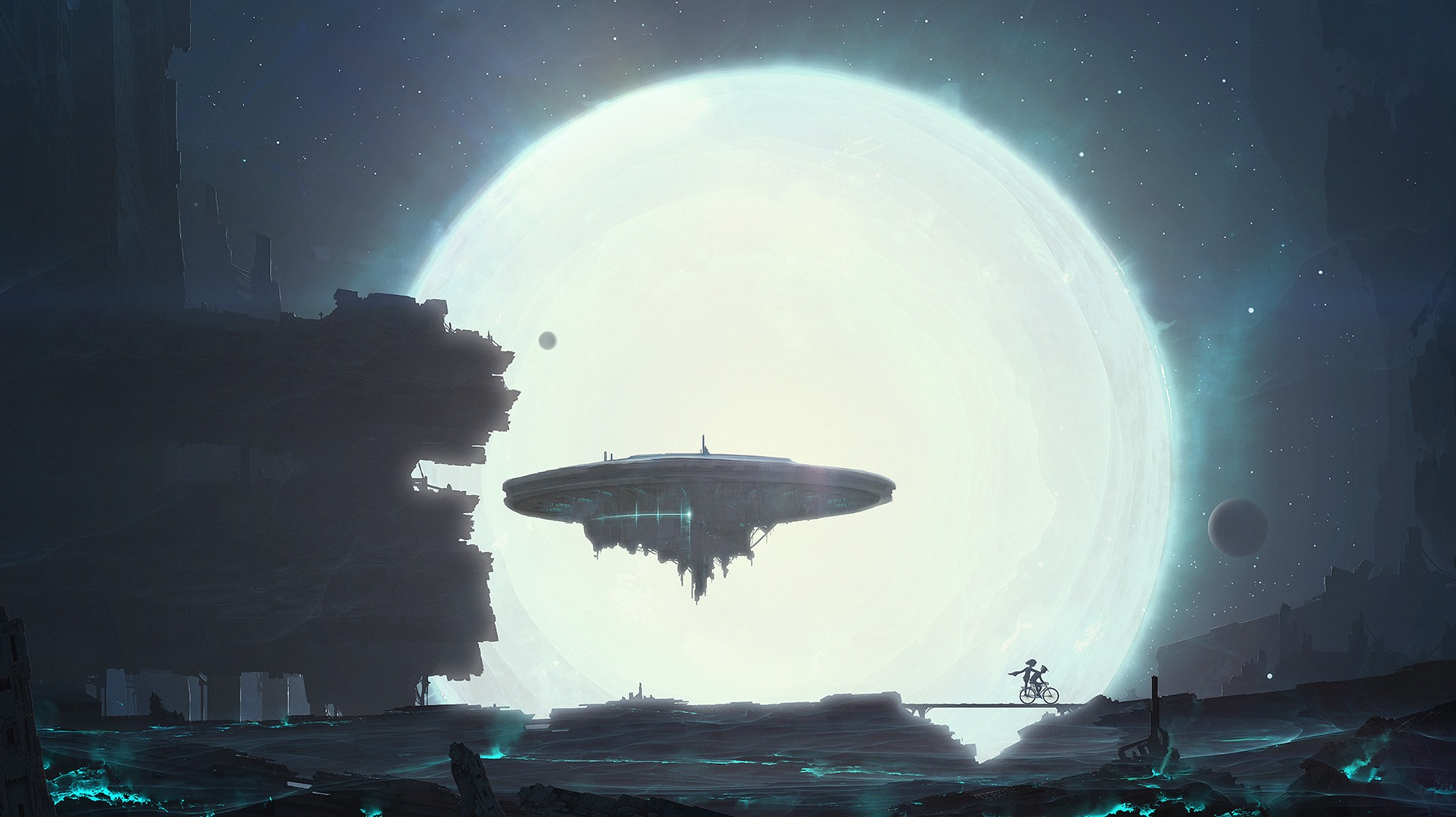 spaceship hd wallpaper for iphone