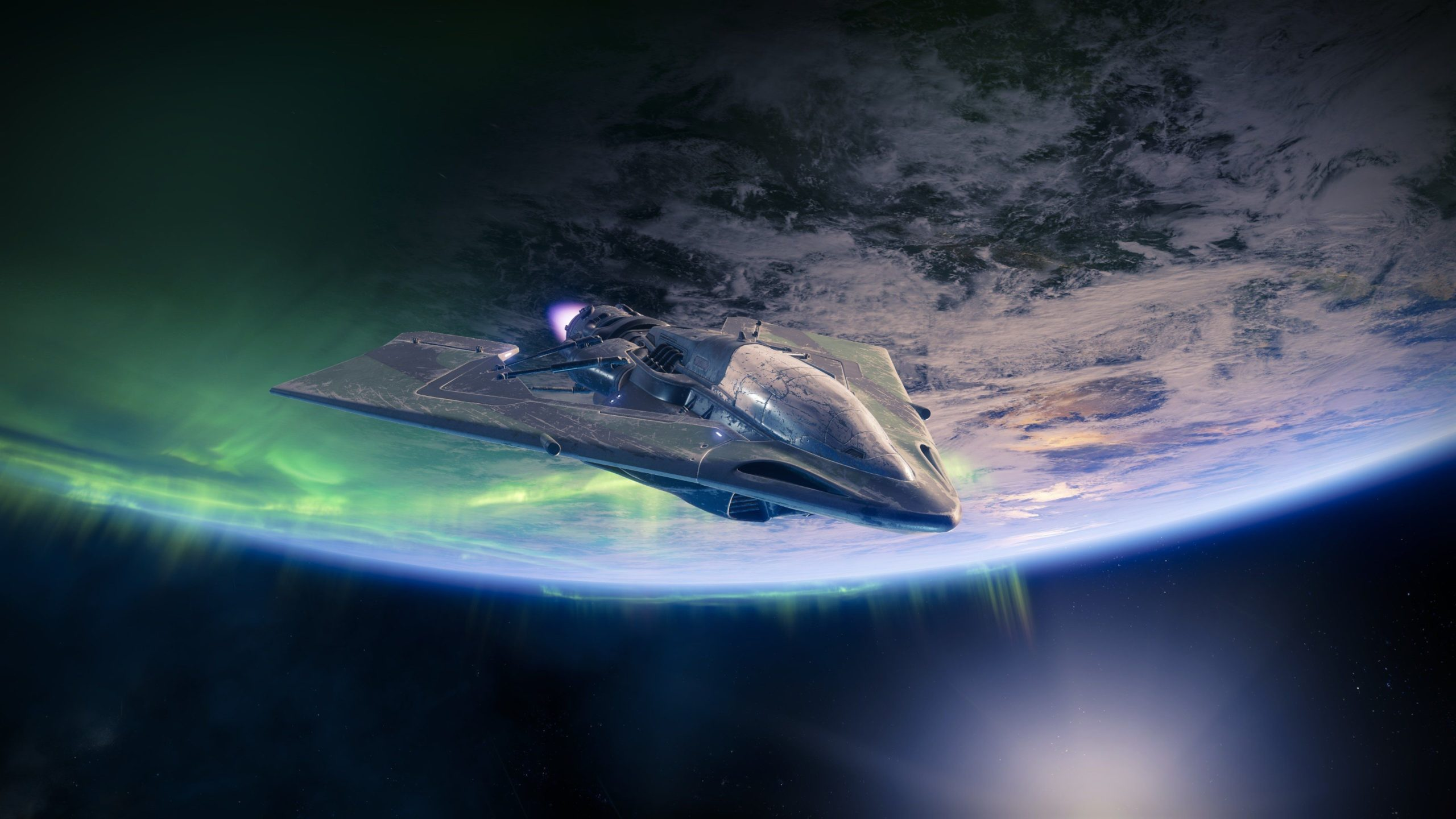 spaceship photography