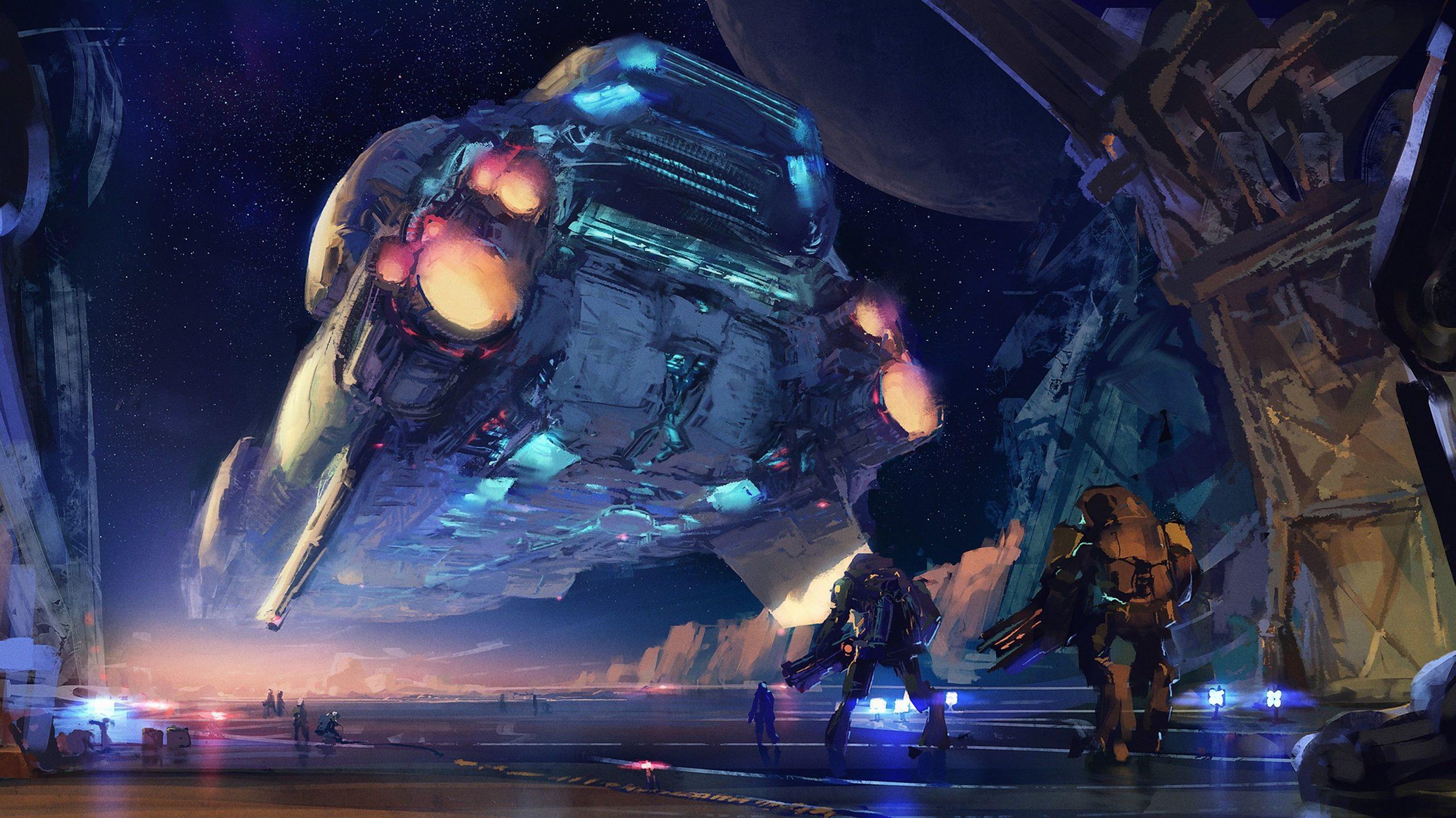 pictures of alien spaceships