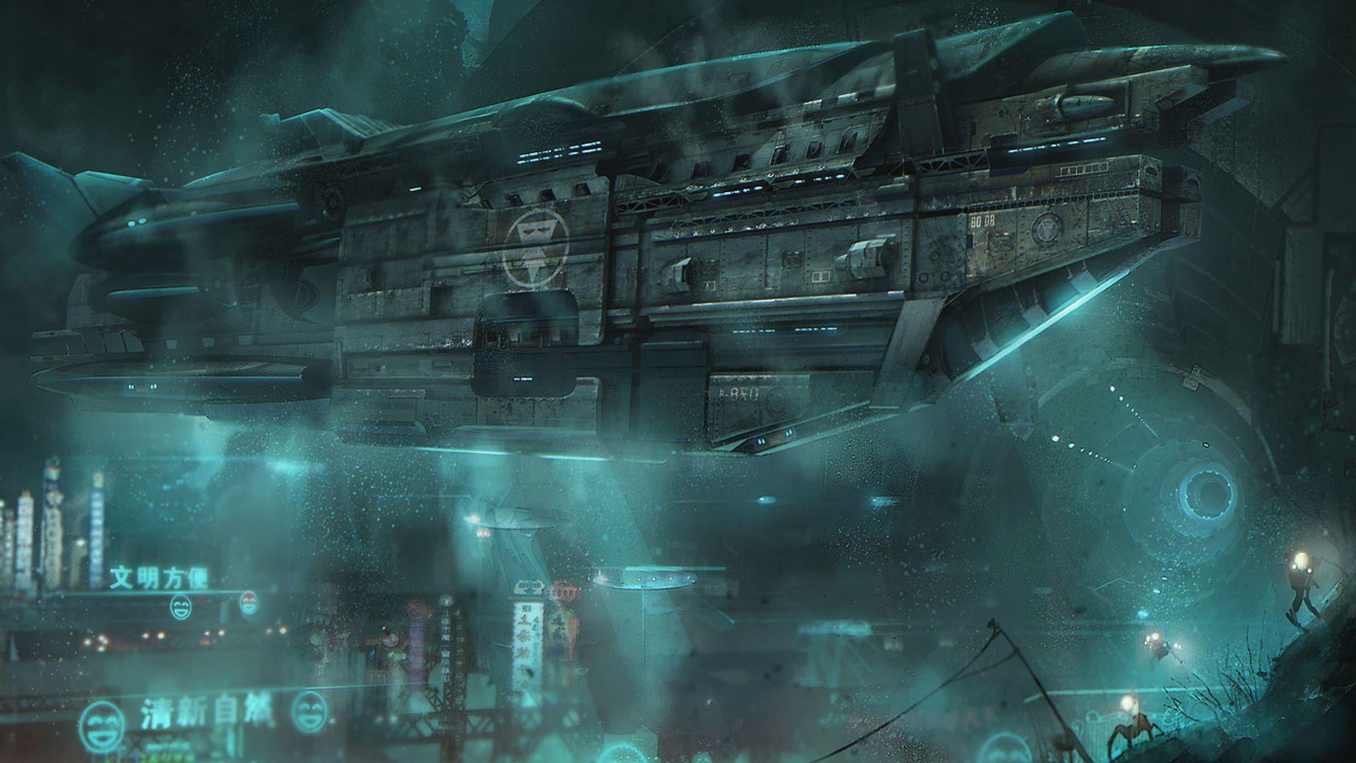 hi def sci fi wallpaper