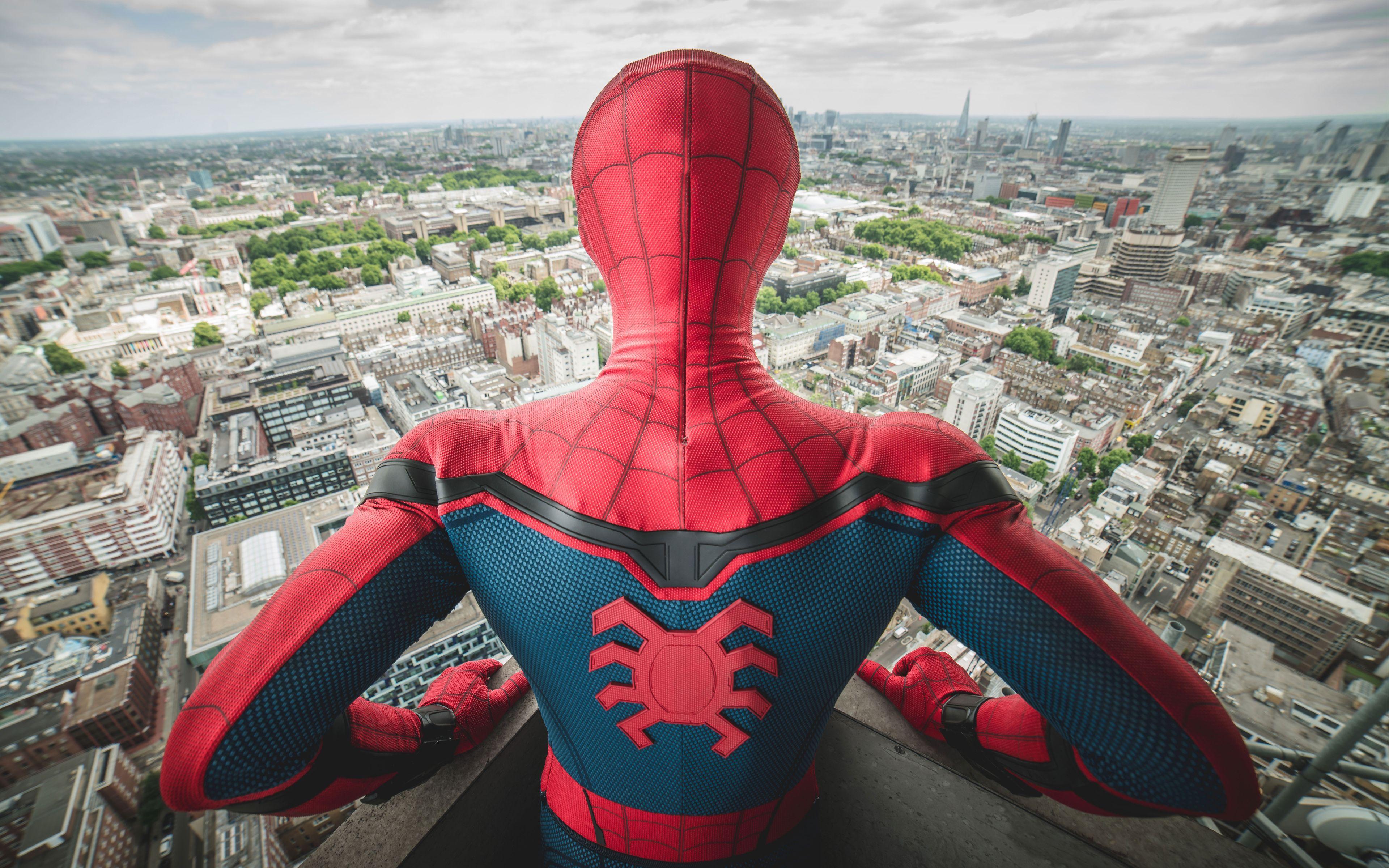 4k spiderman wallpaper
