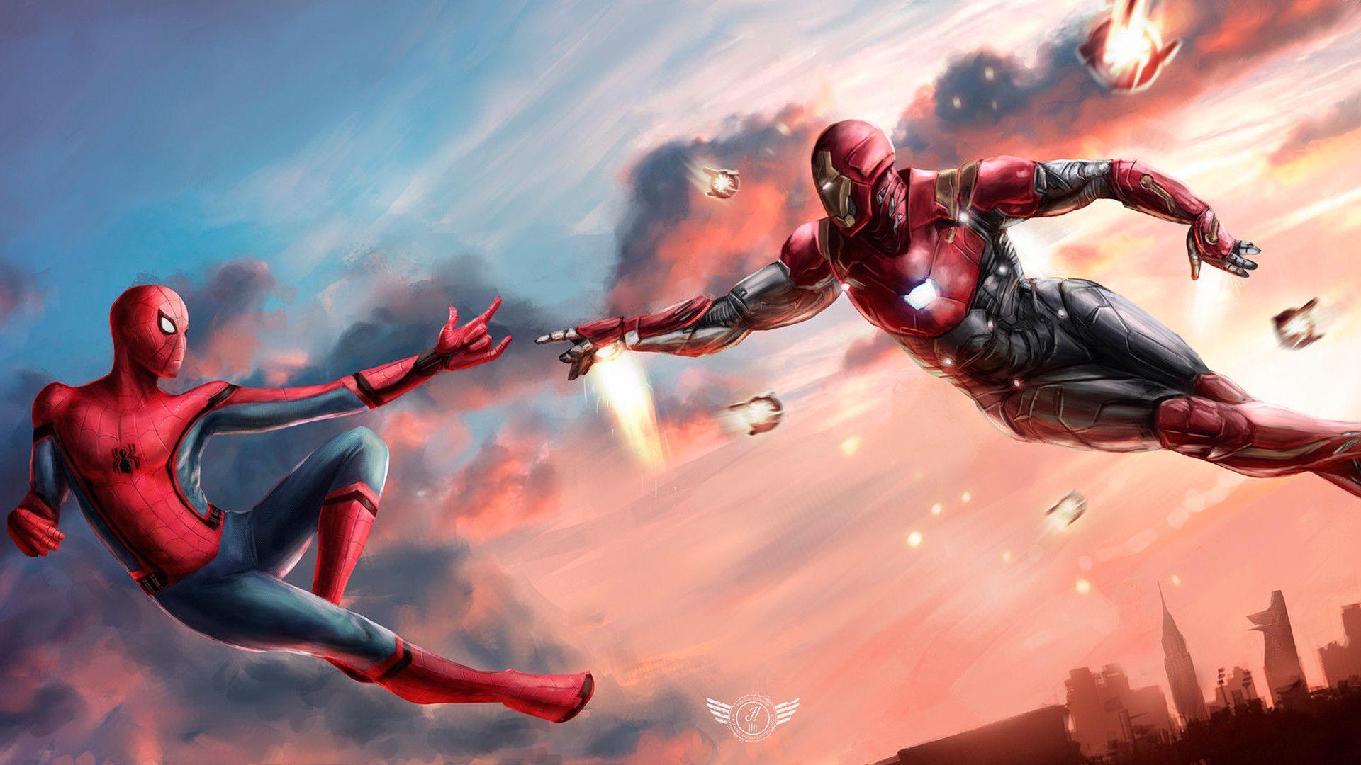 spider man ps4 4k wallpaper