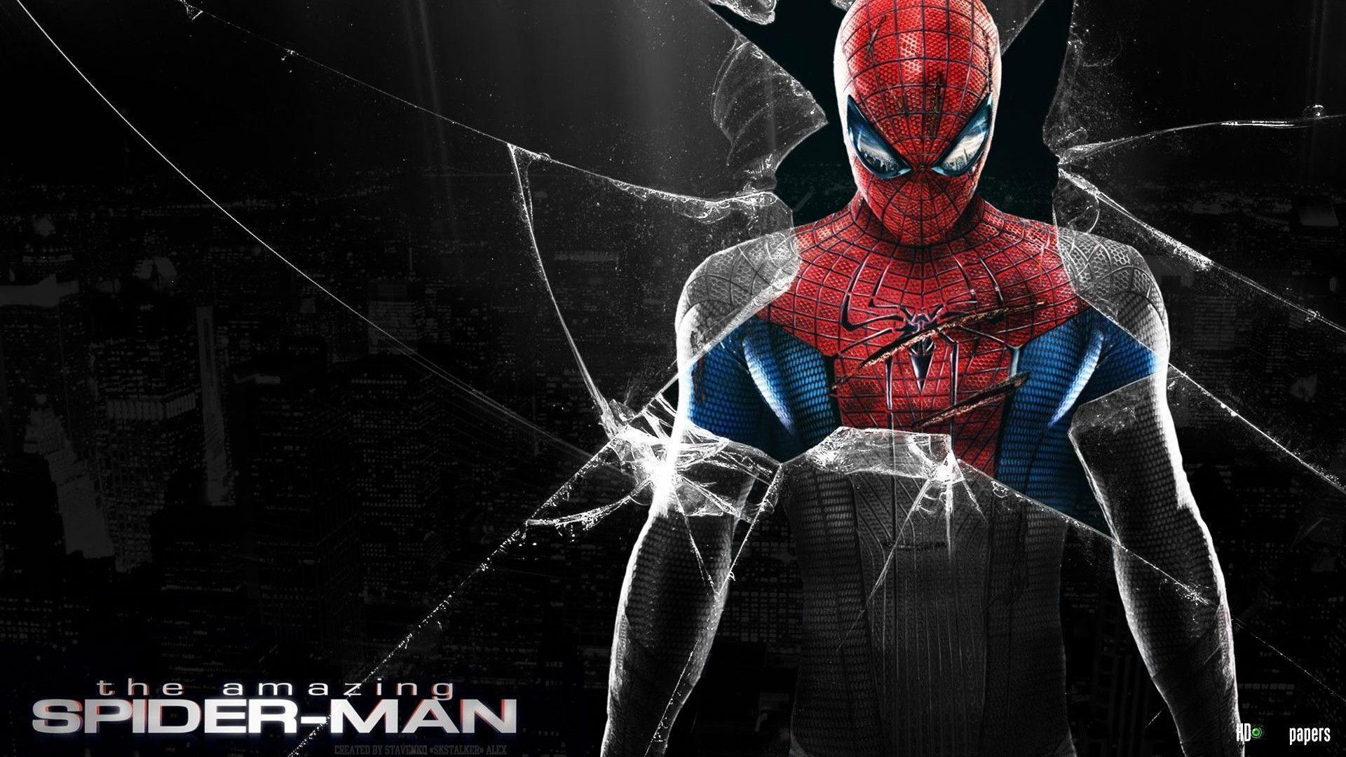 spiderman wall paper