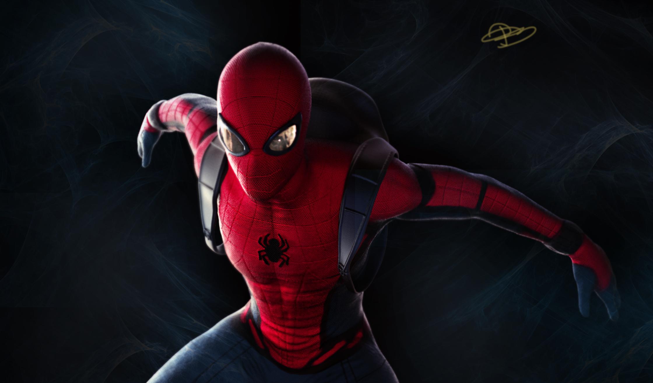 spiderman ps4 selfie