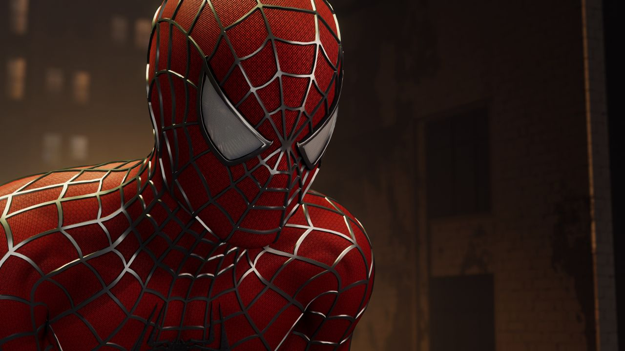 spiderman neon wallpaper