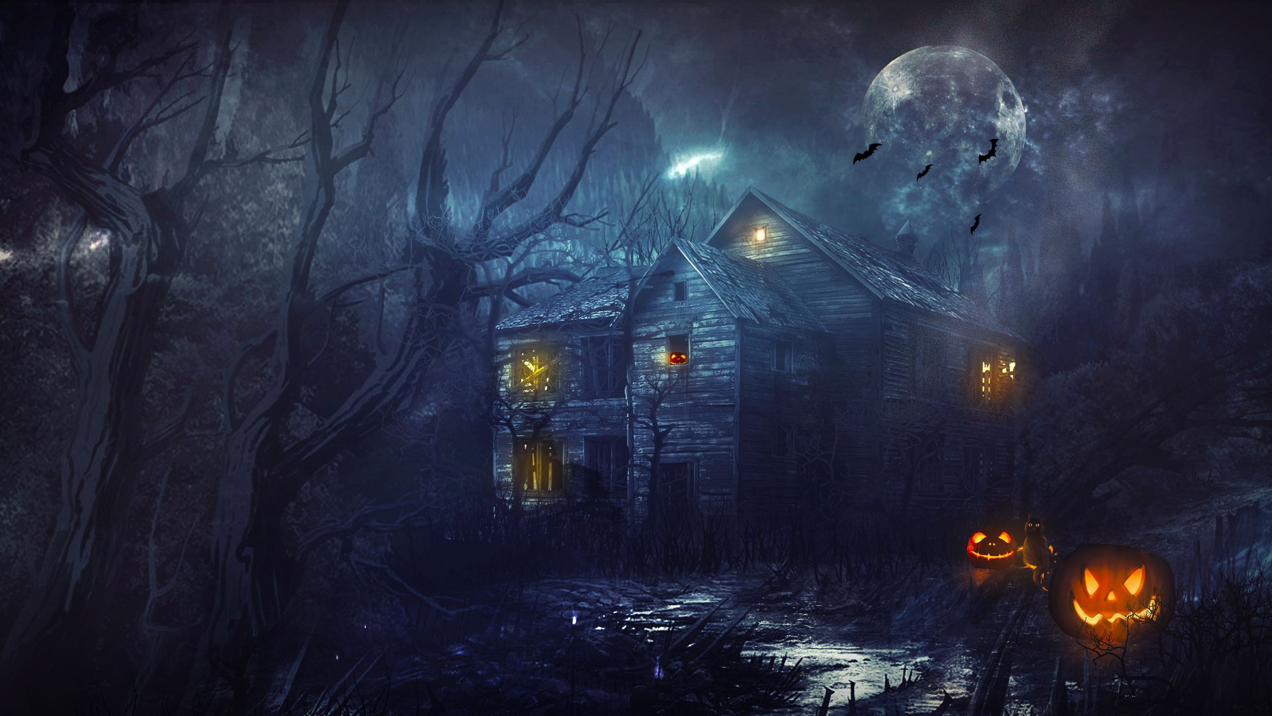 spooky background images