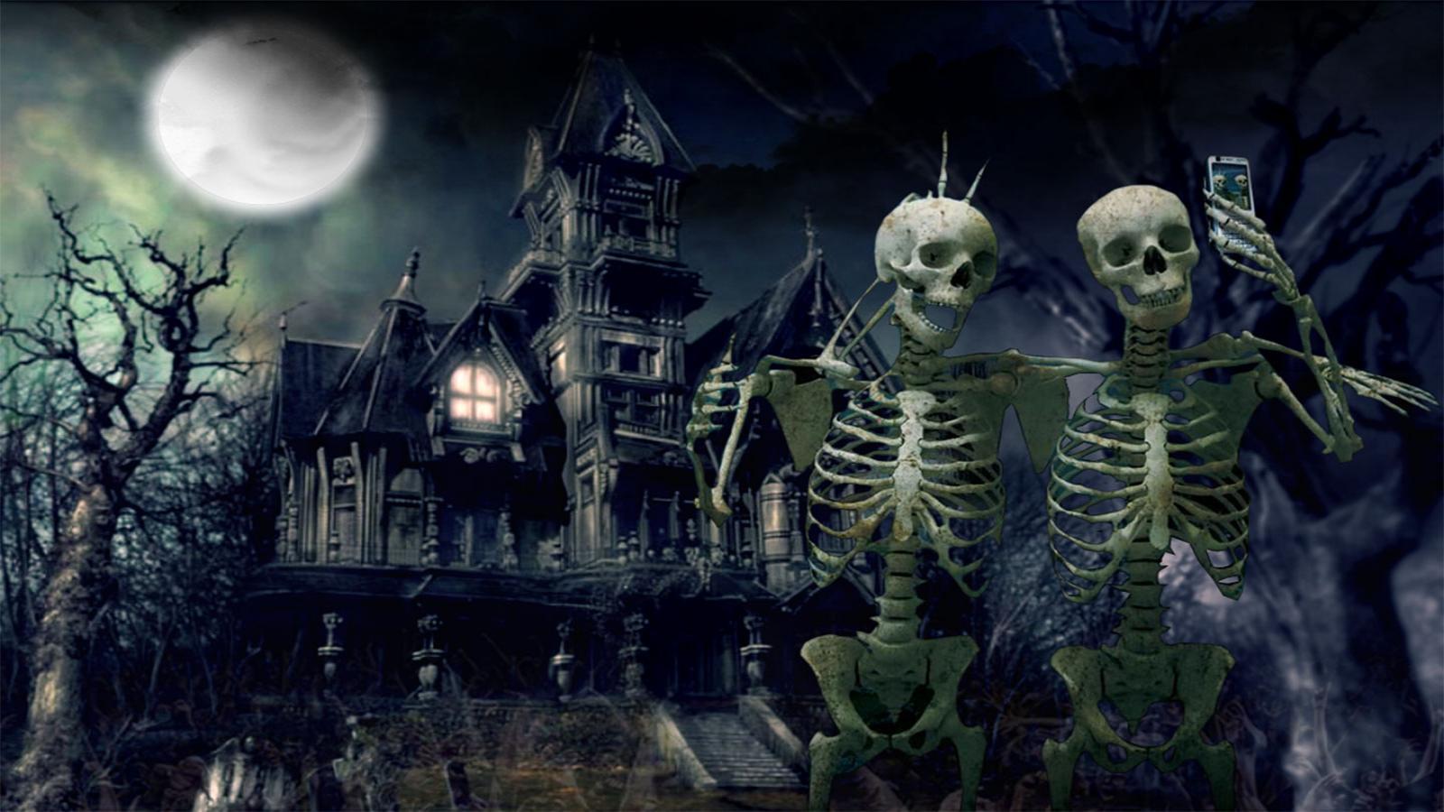 scary haloween photos