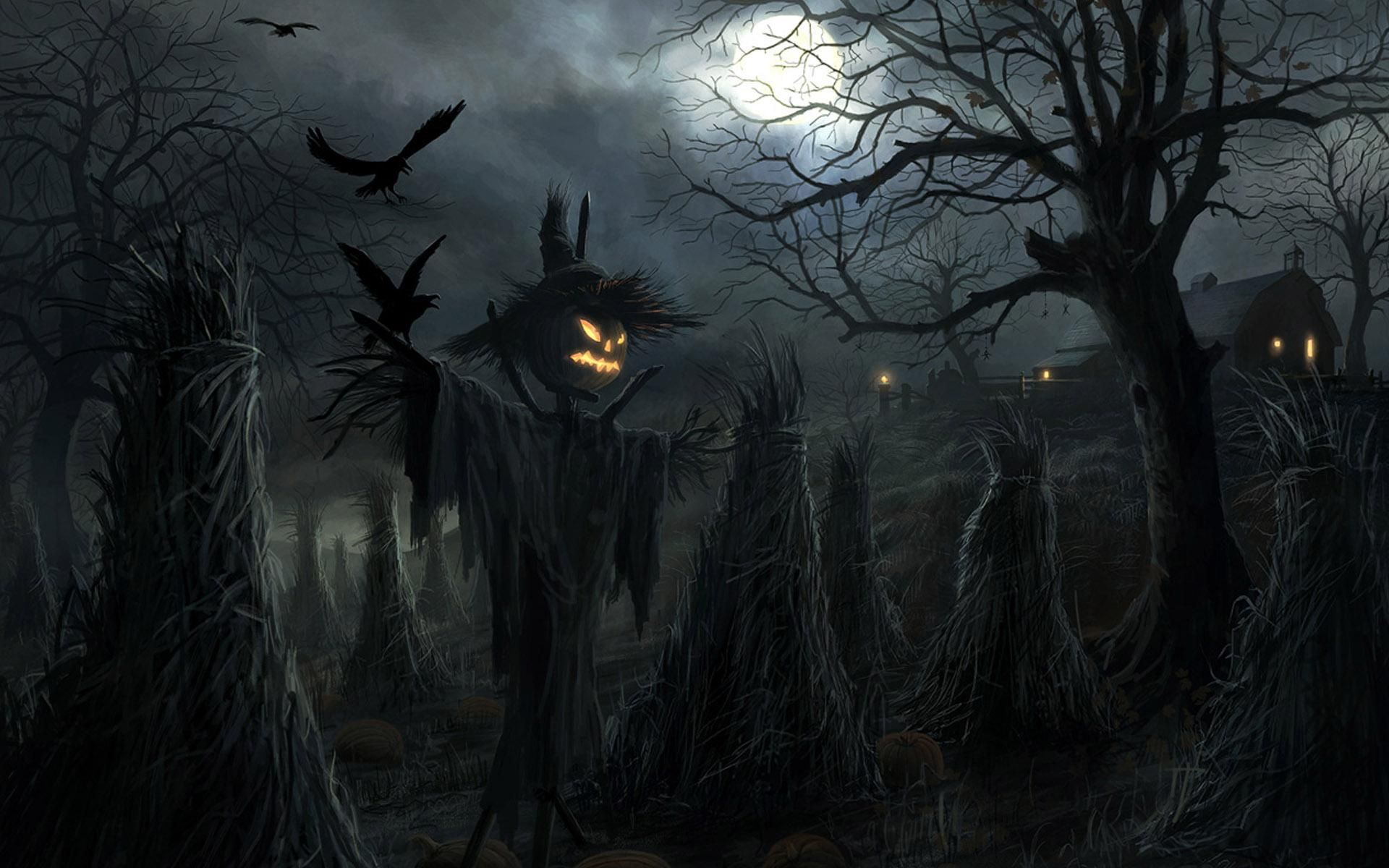 halloween scary pictures free