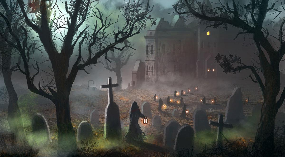 halloween scary images