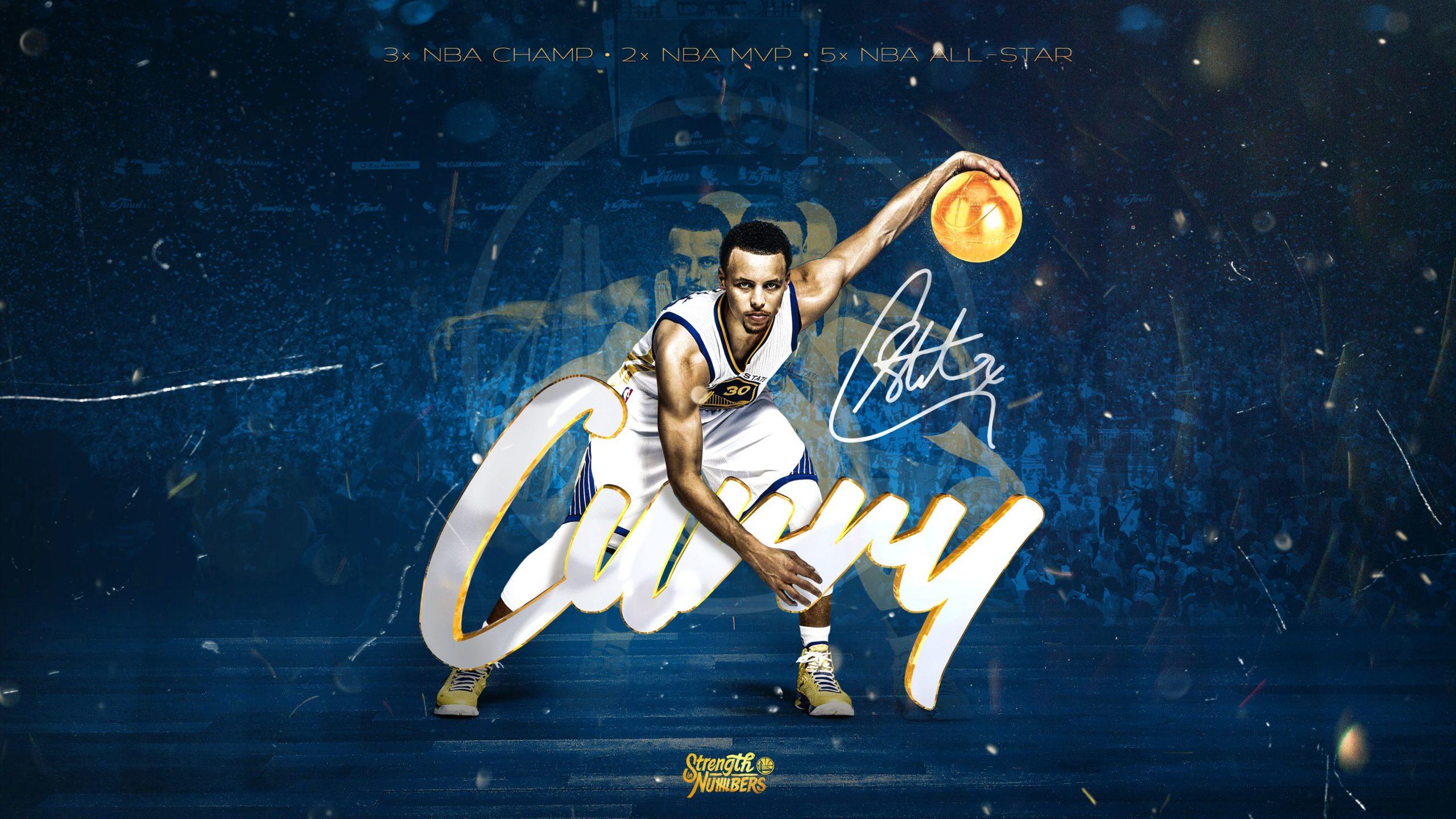 nba curry wallpaper