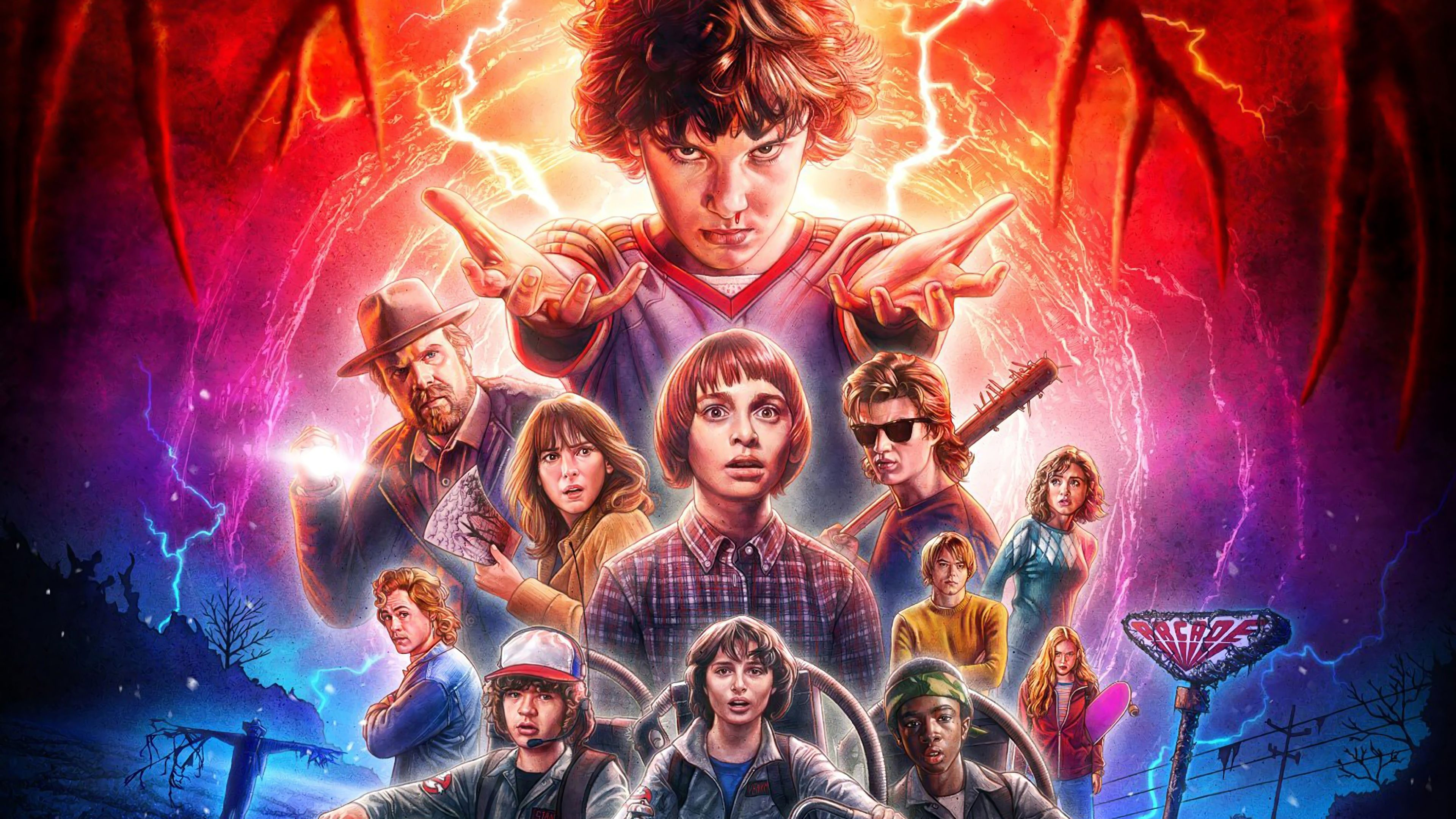 stranger things screensaver