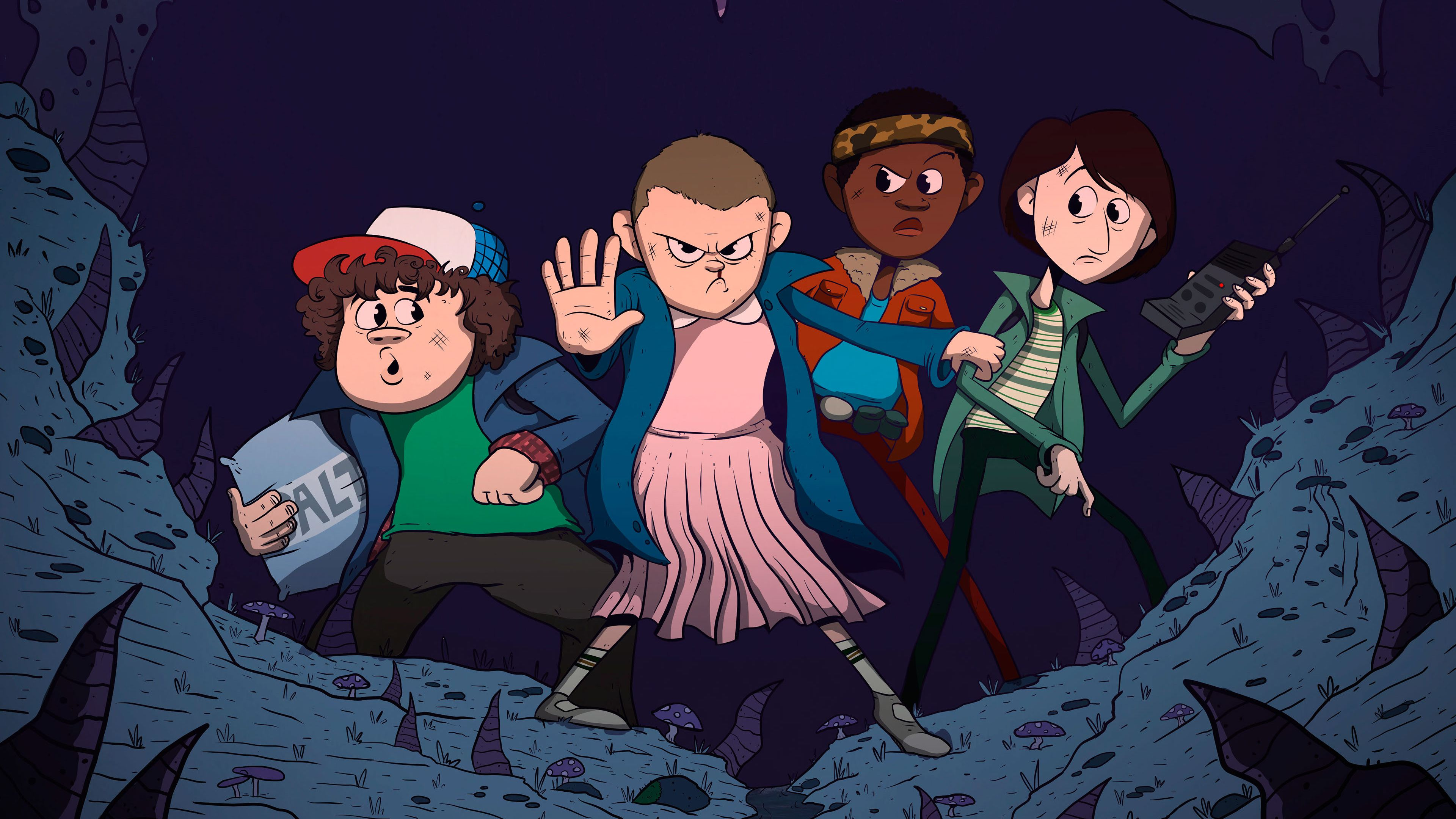 stranger things wallpaper tumblr