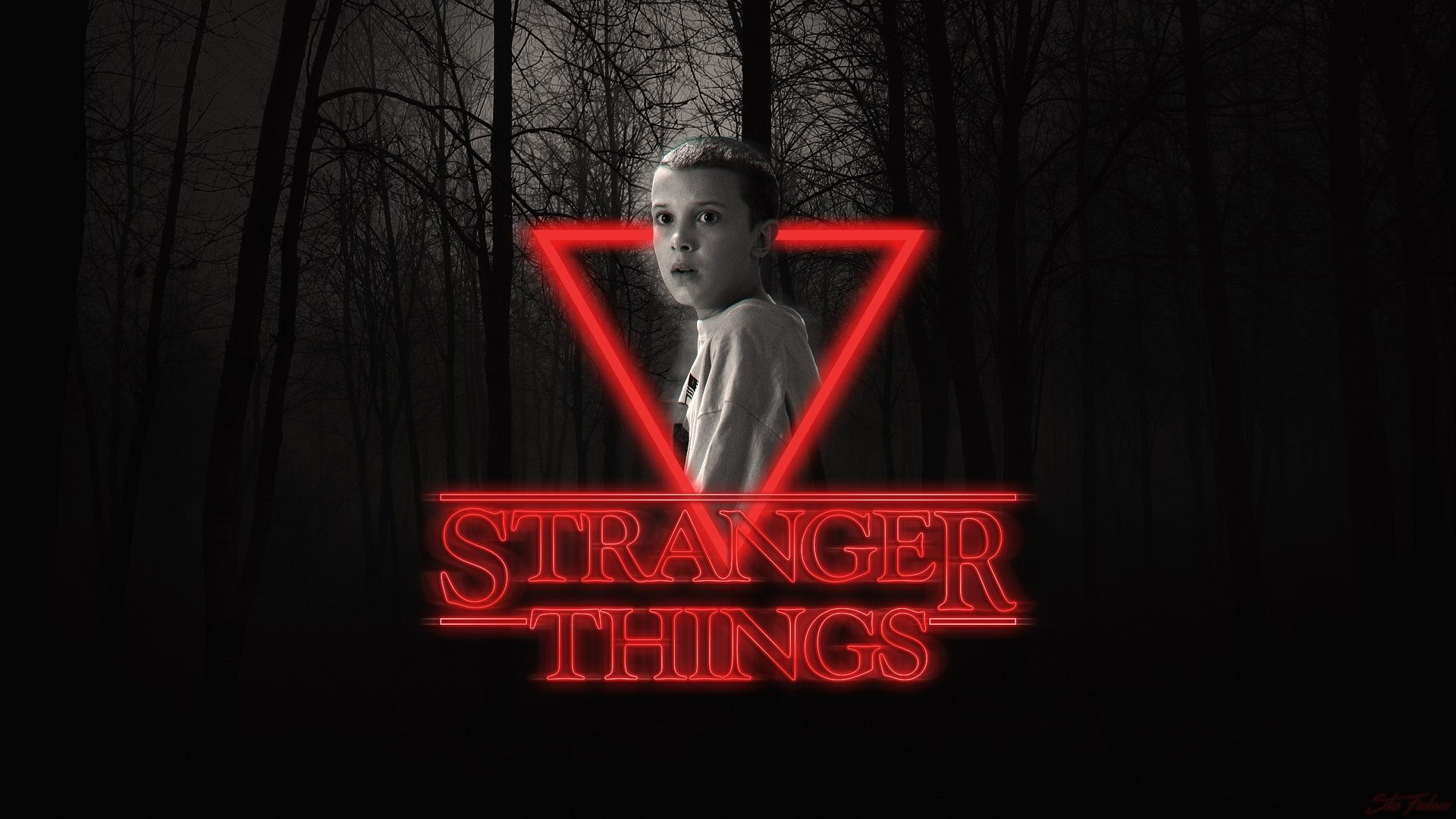 stranger things aesthetic