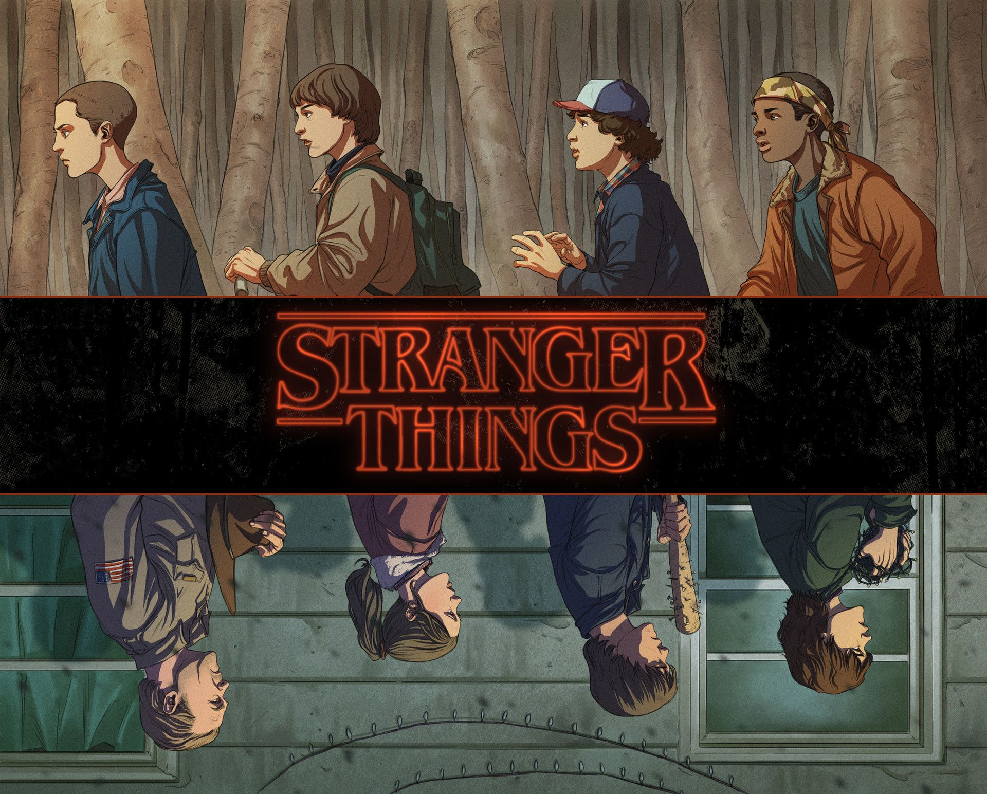 free stranger things font