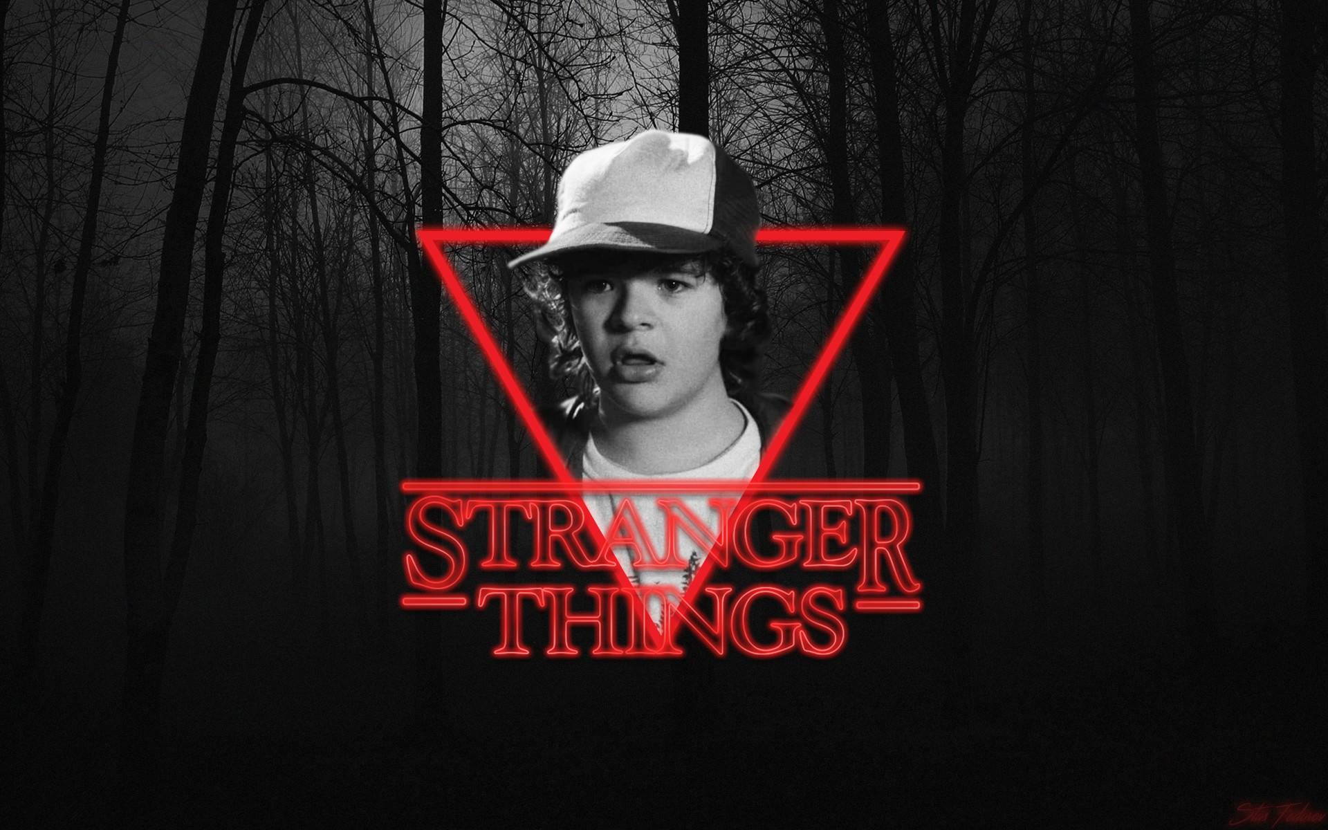 stranger things hd wallpaper
