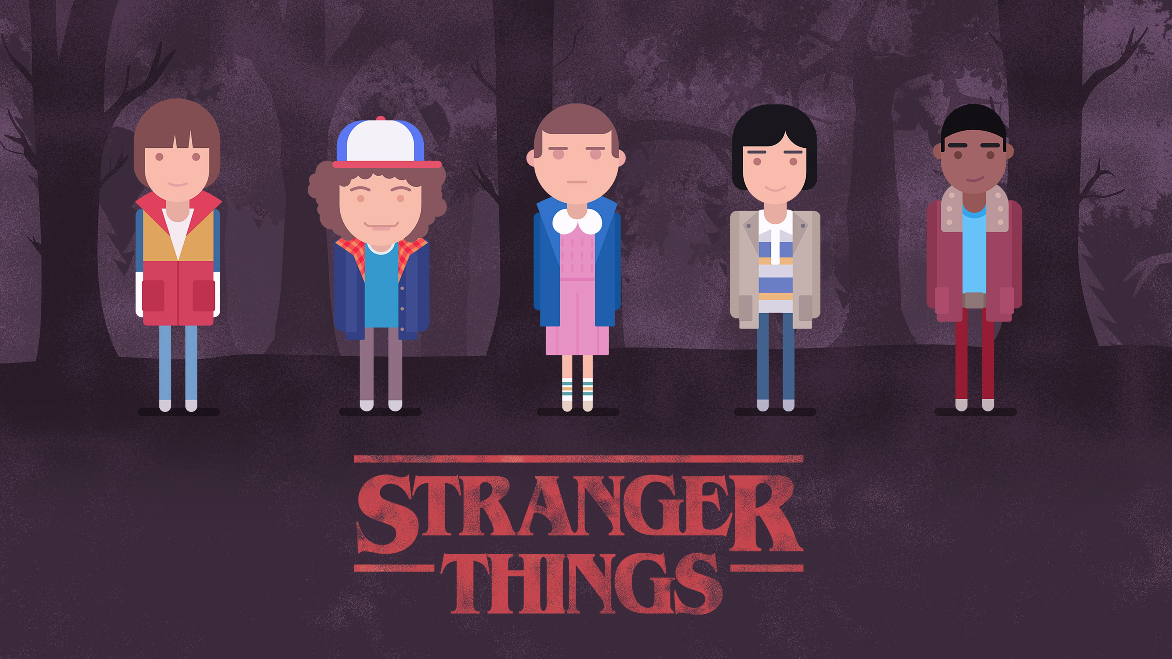 stranger things wallpaper hd