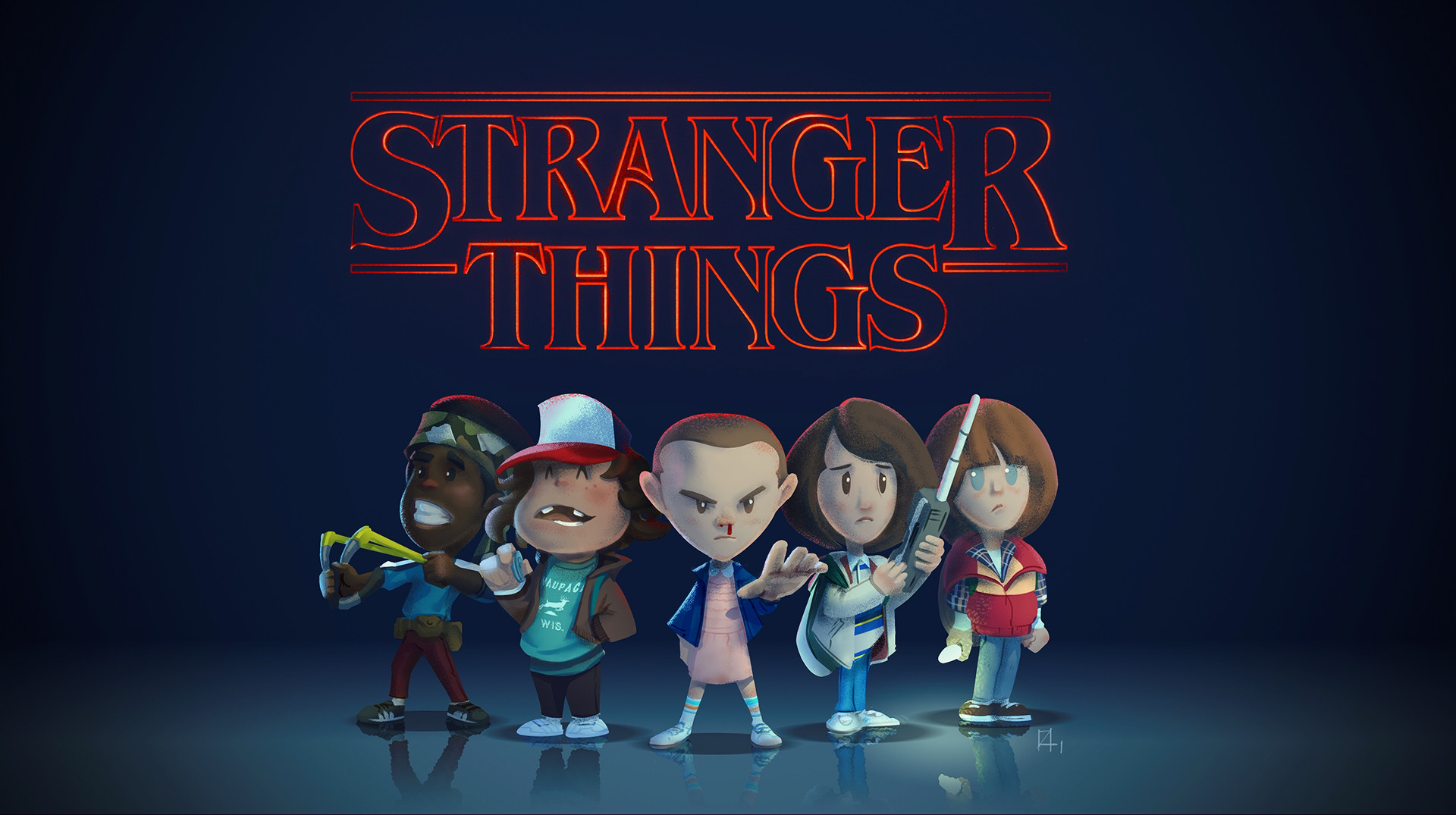 stranger things season 2 wallpaper