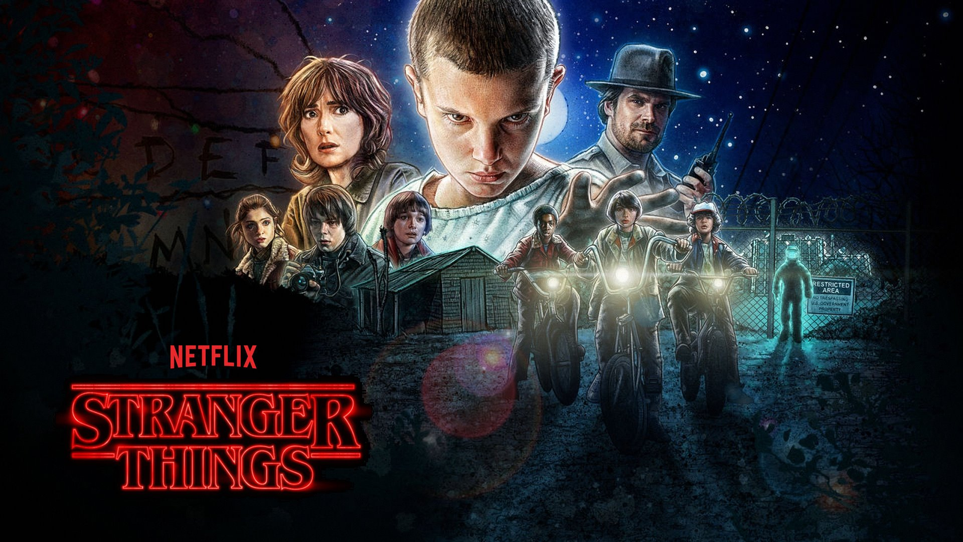 stranger things wallpaper phone