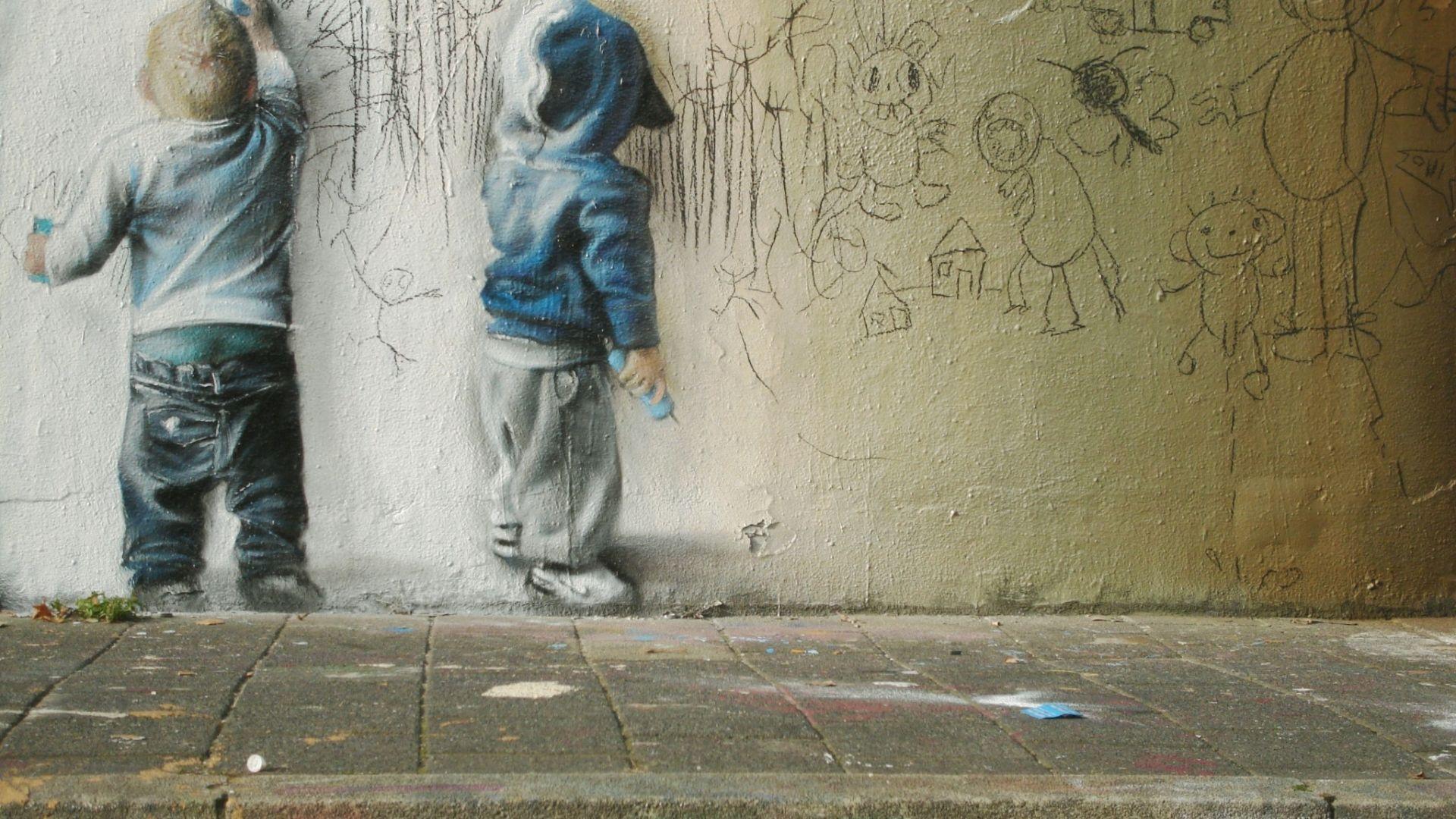 street wall art wallpapers