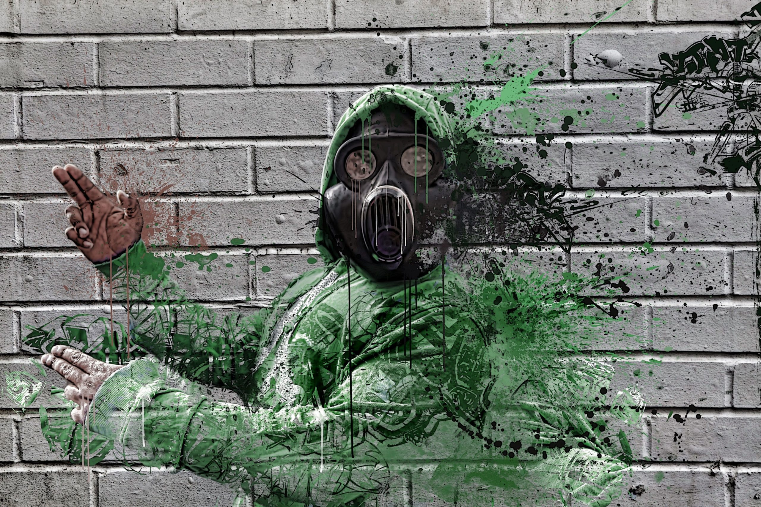 street wall art 4k