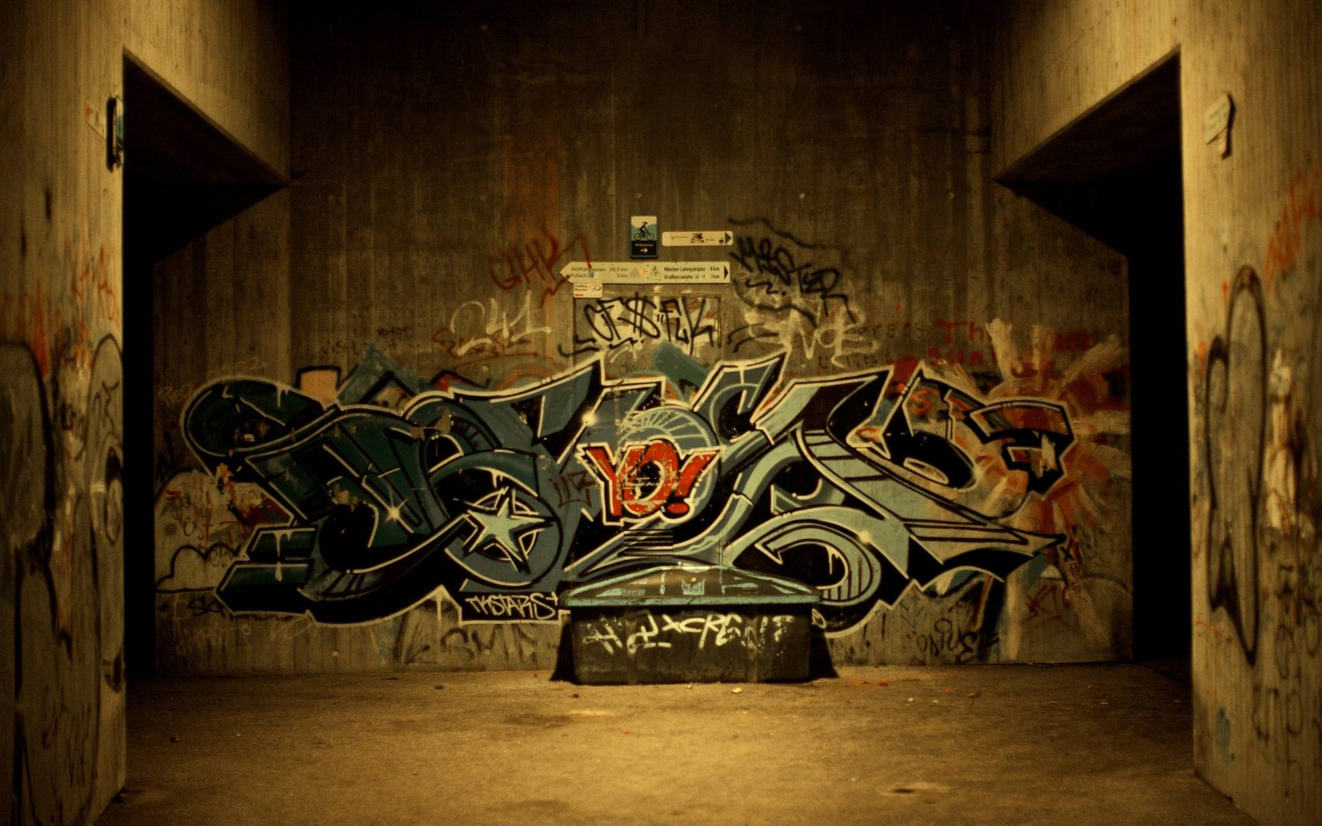 pictures of graffiti art