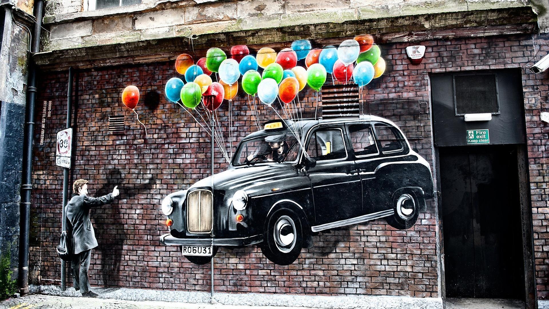 street graffiti wallpaper