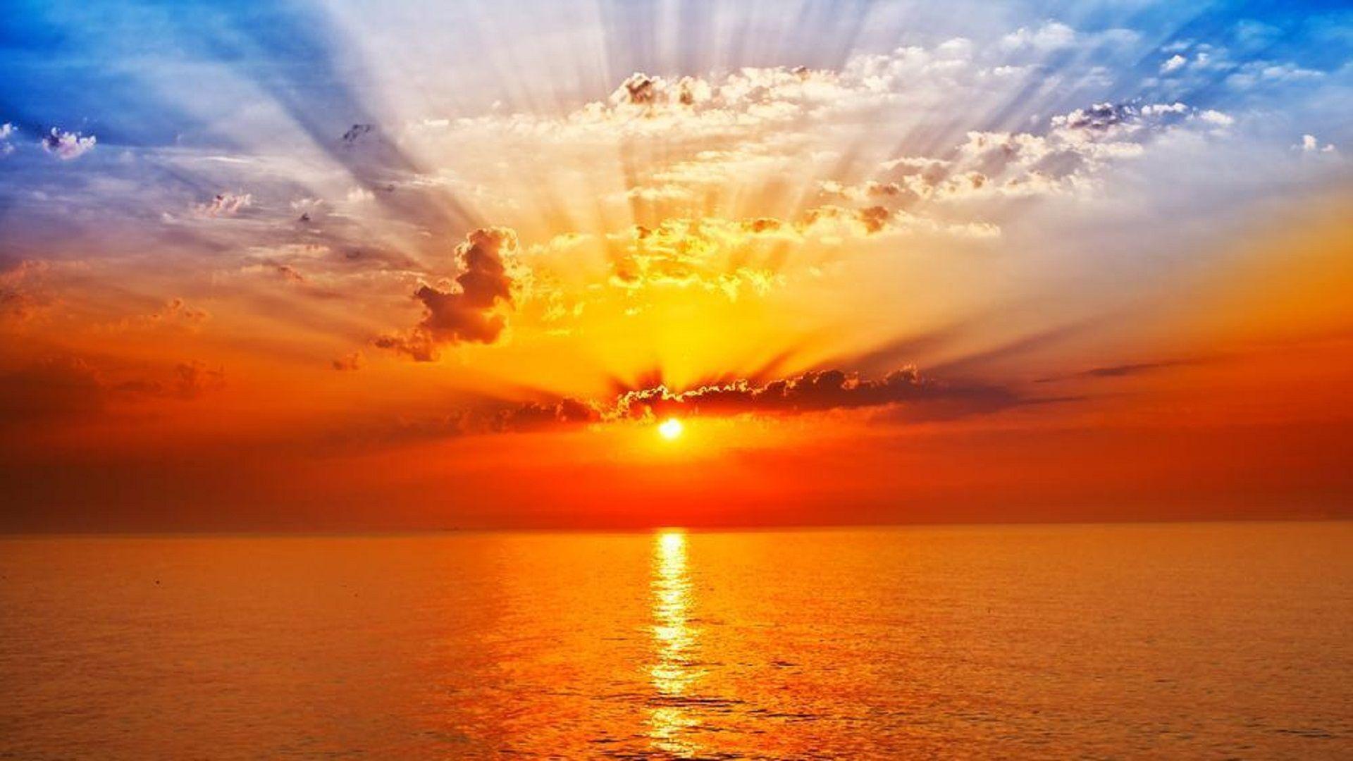 Sunrise Wallpaper 4k