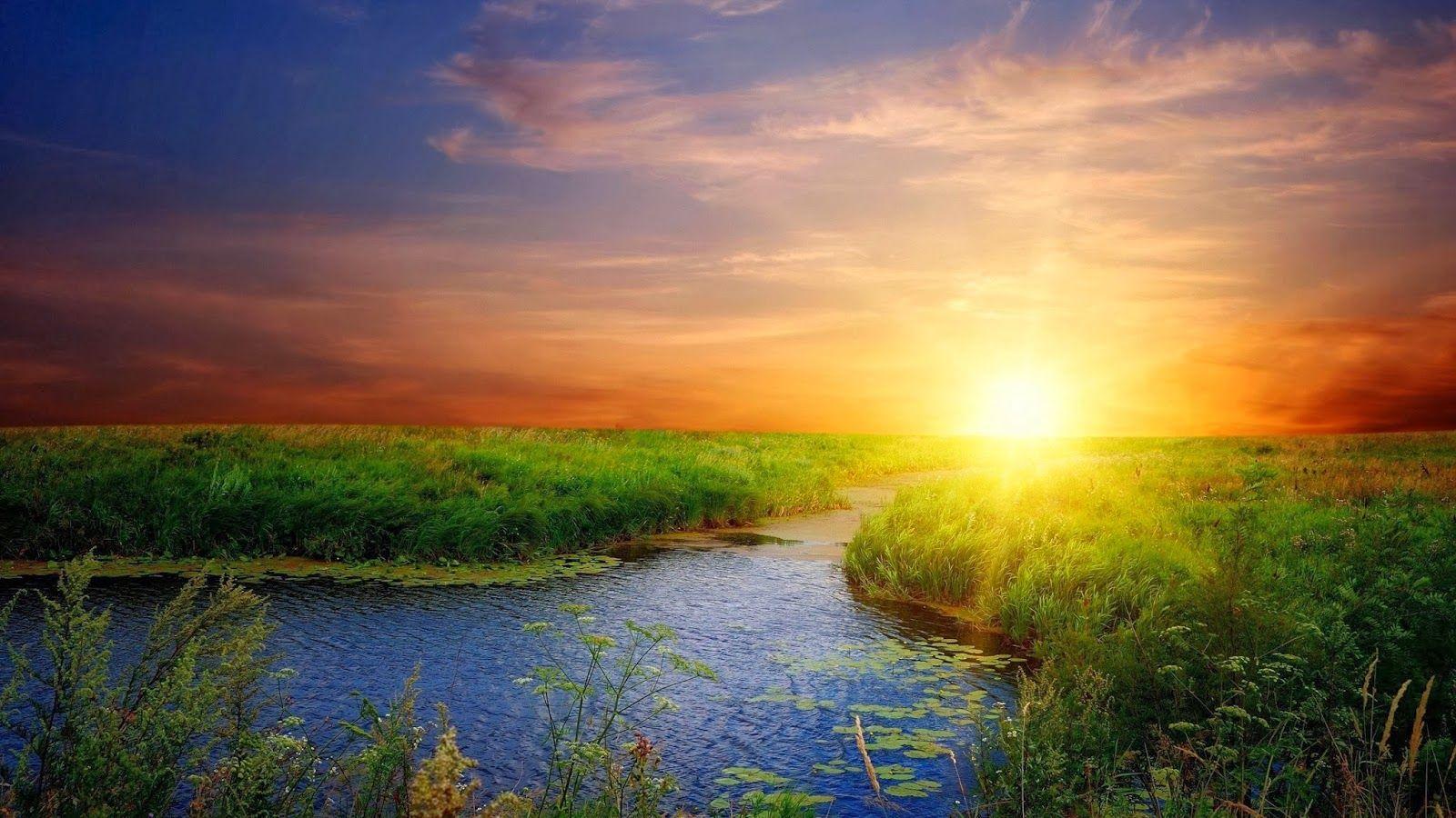 image of beautiful sunrise