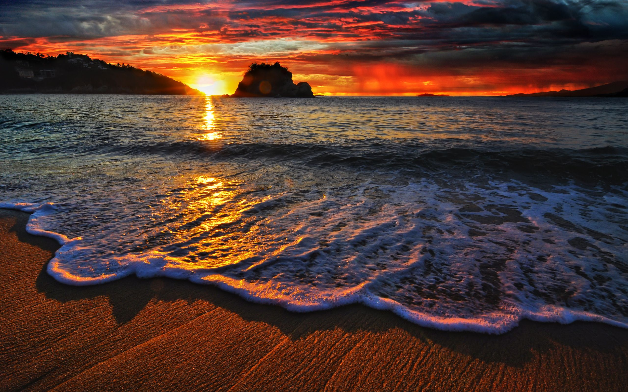 sunset pictures hd