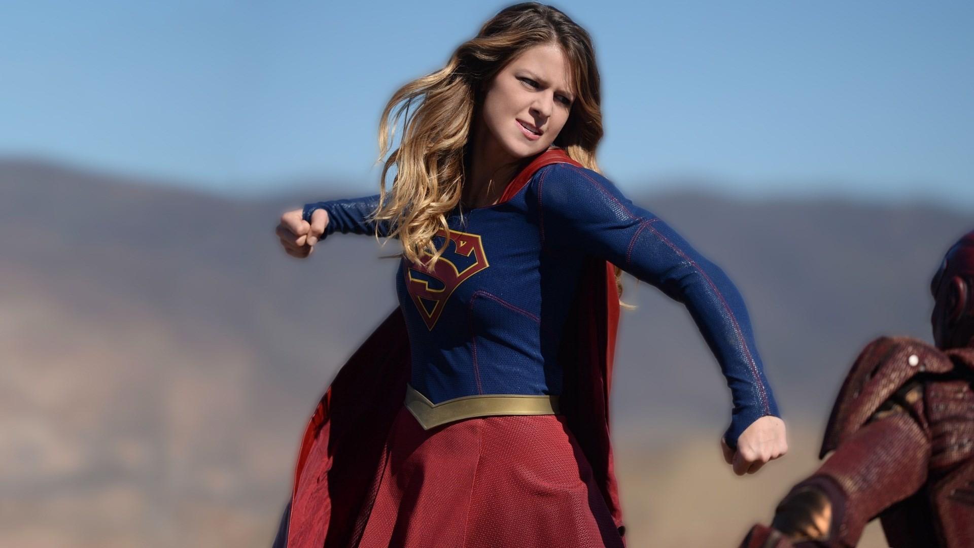 melissa benoist supergirl wallpaper