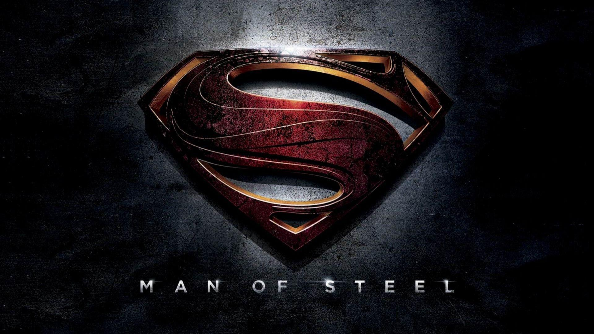 man of steel wallpapers, superman symbol wallpaper