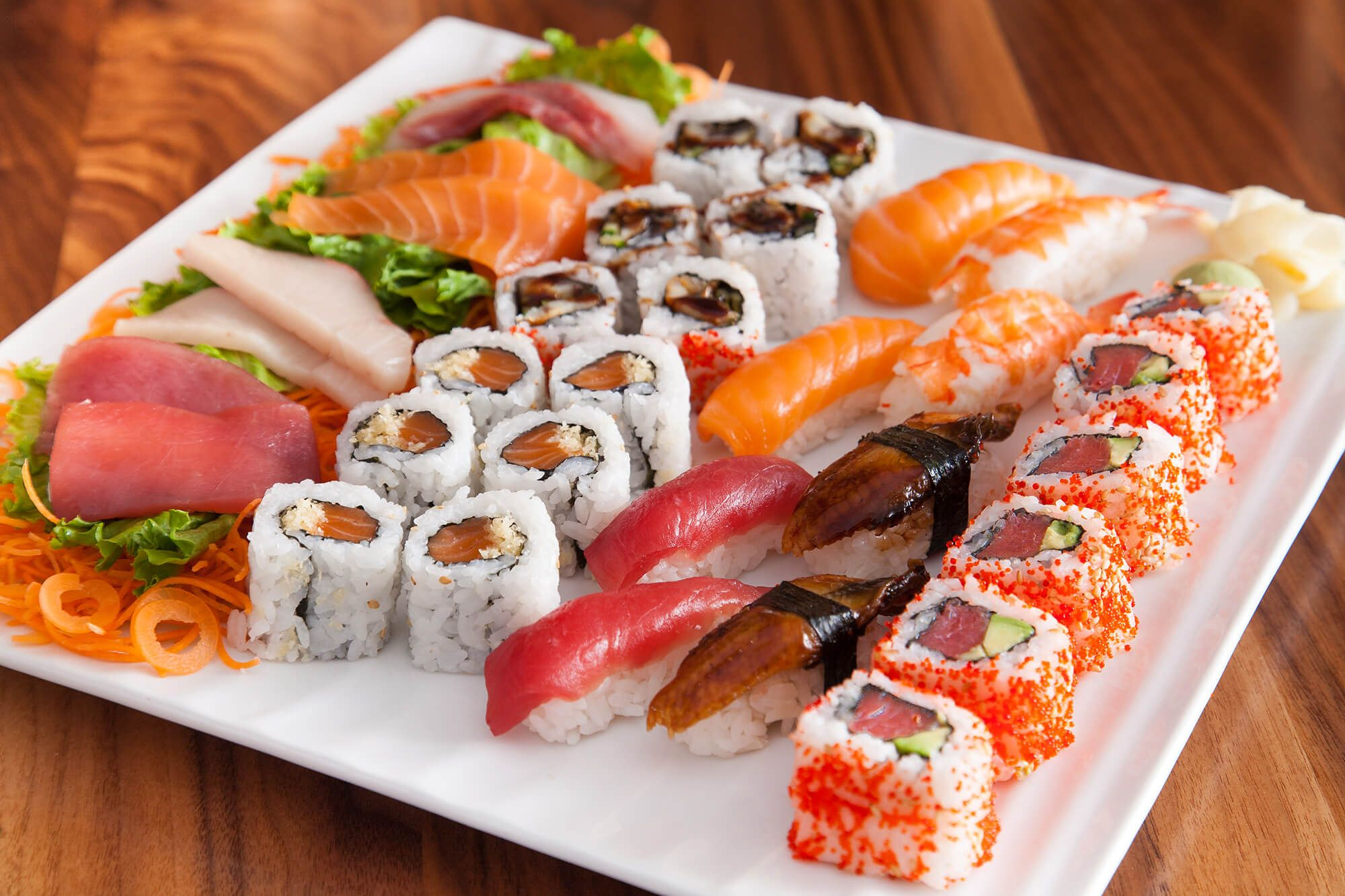 sushi photographs