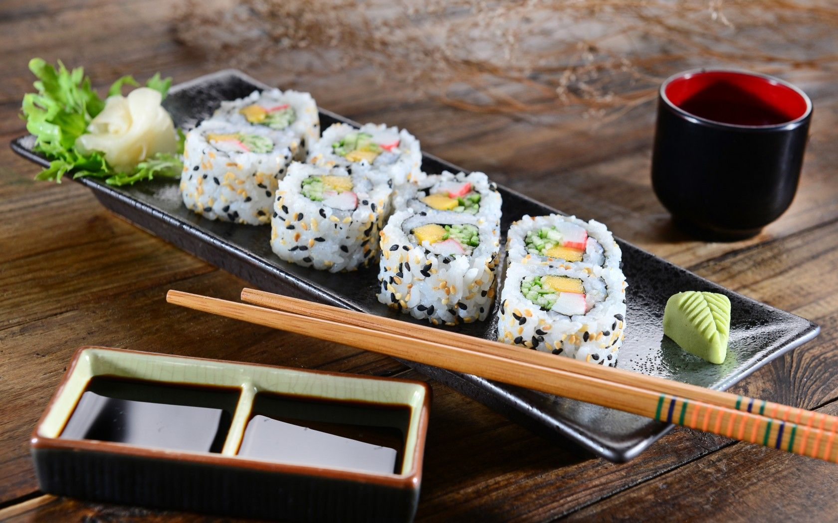 images of sushi