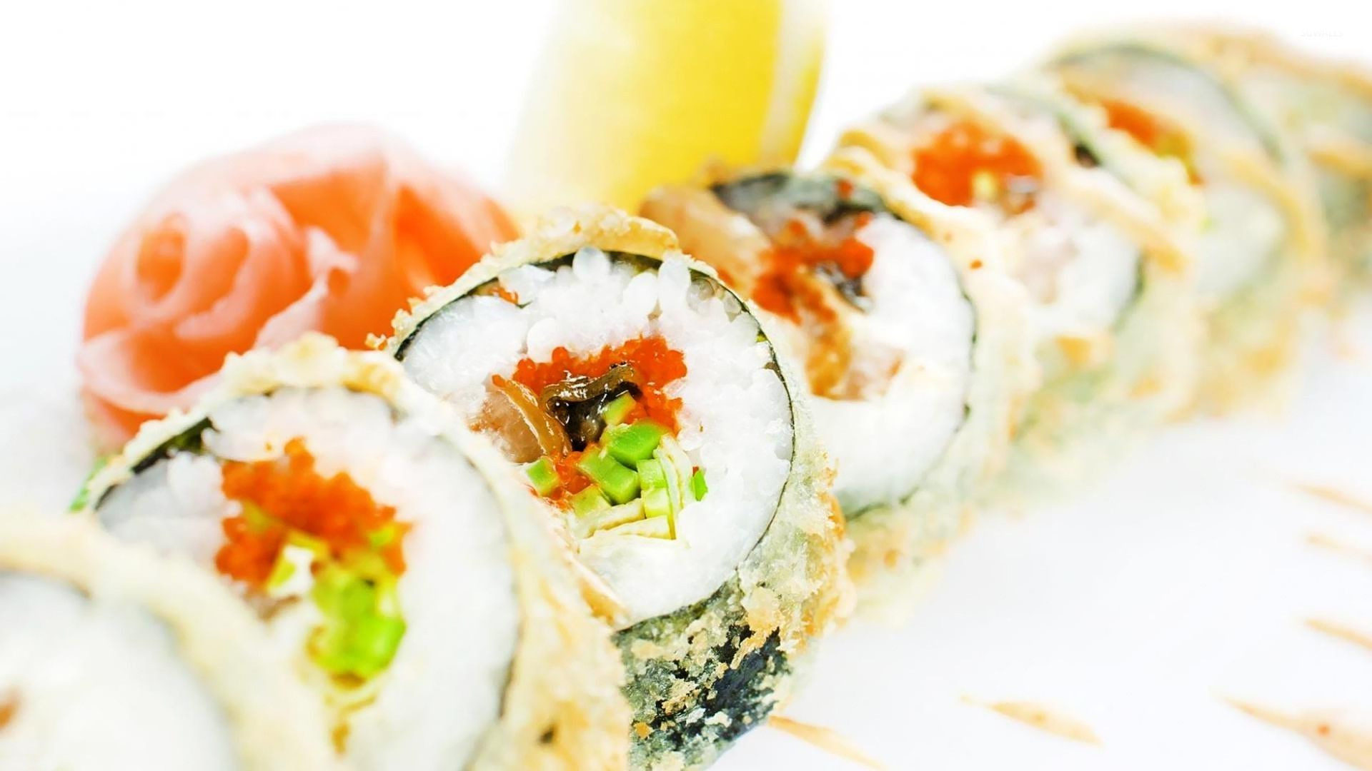 pictures of sushi rolls
