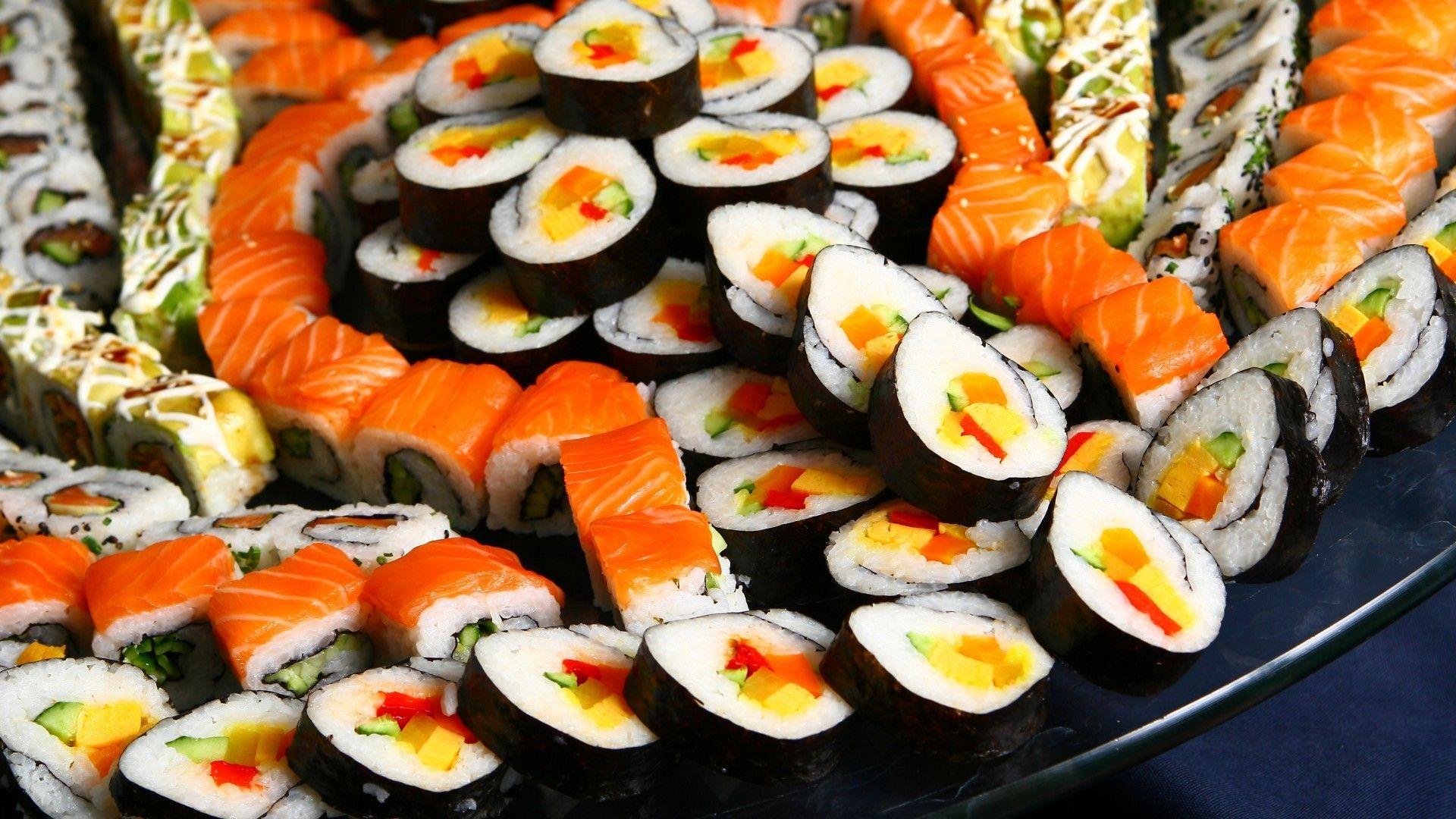 sushi background images