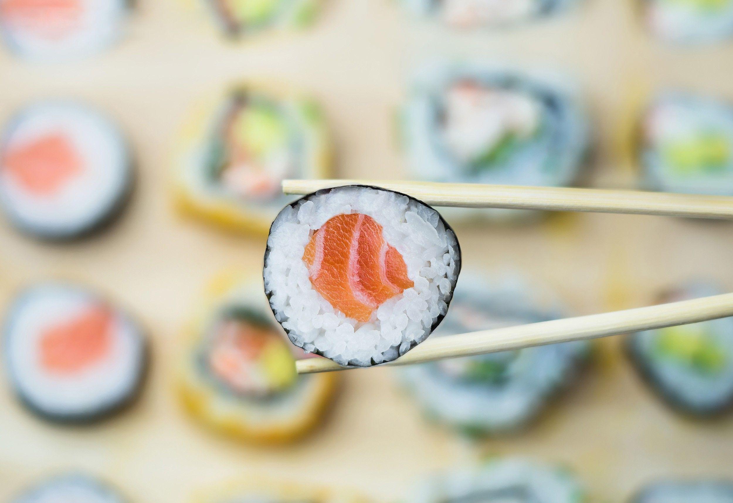 sushi background photos