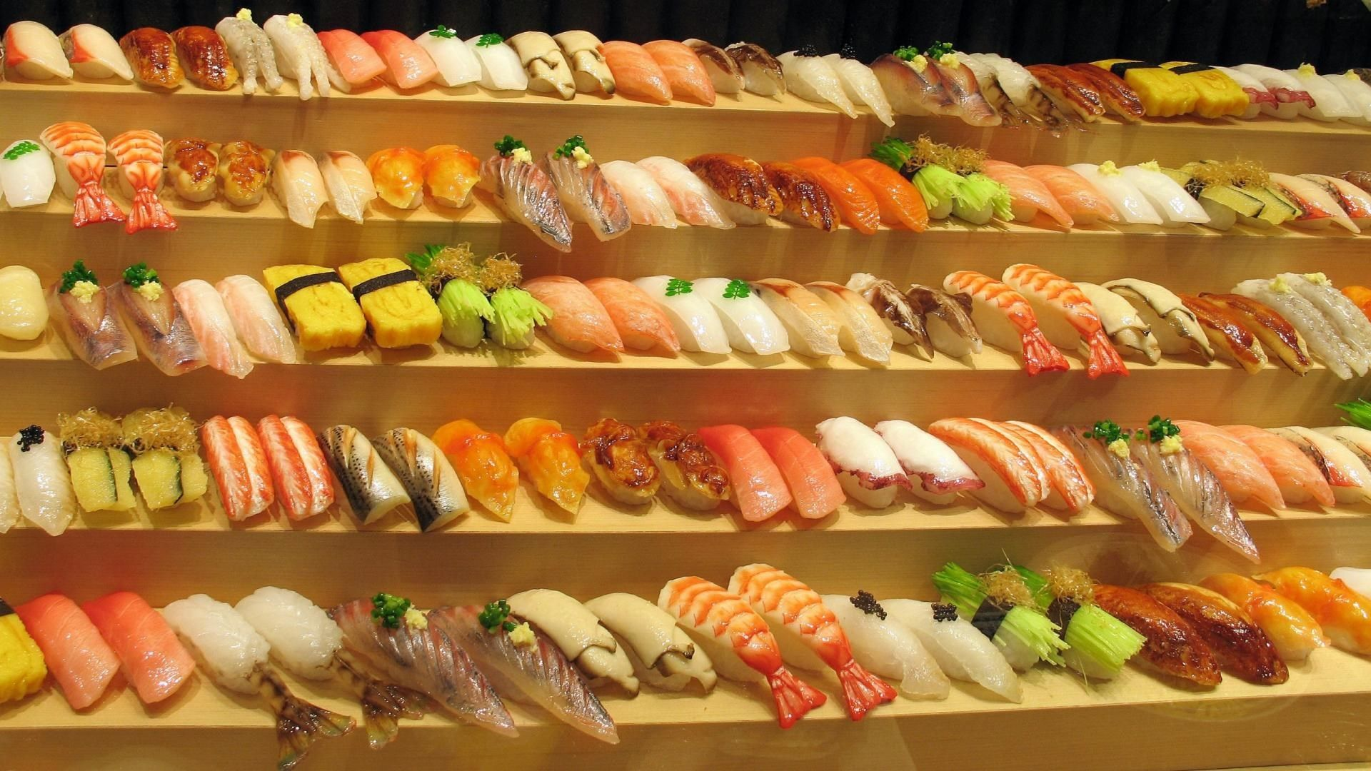 sushi background pictures