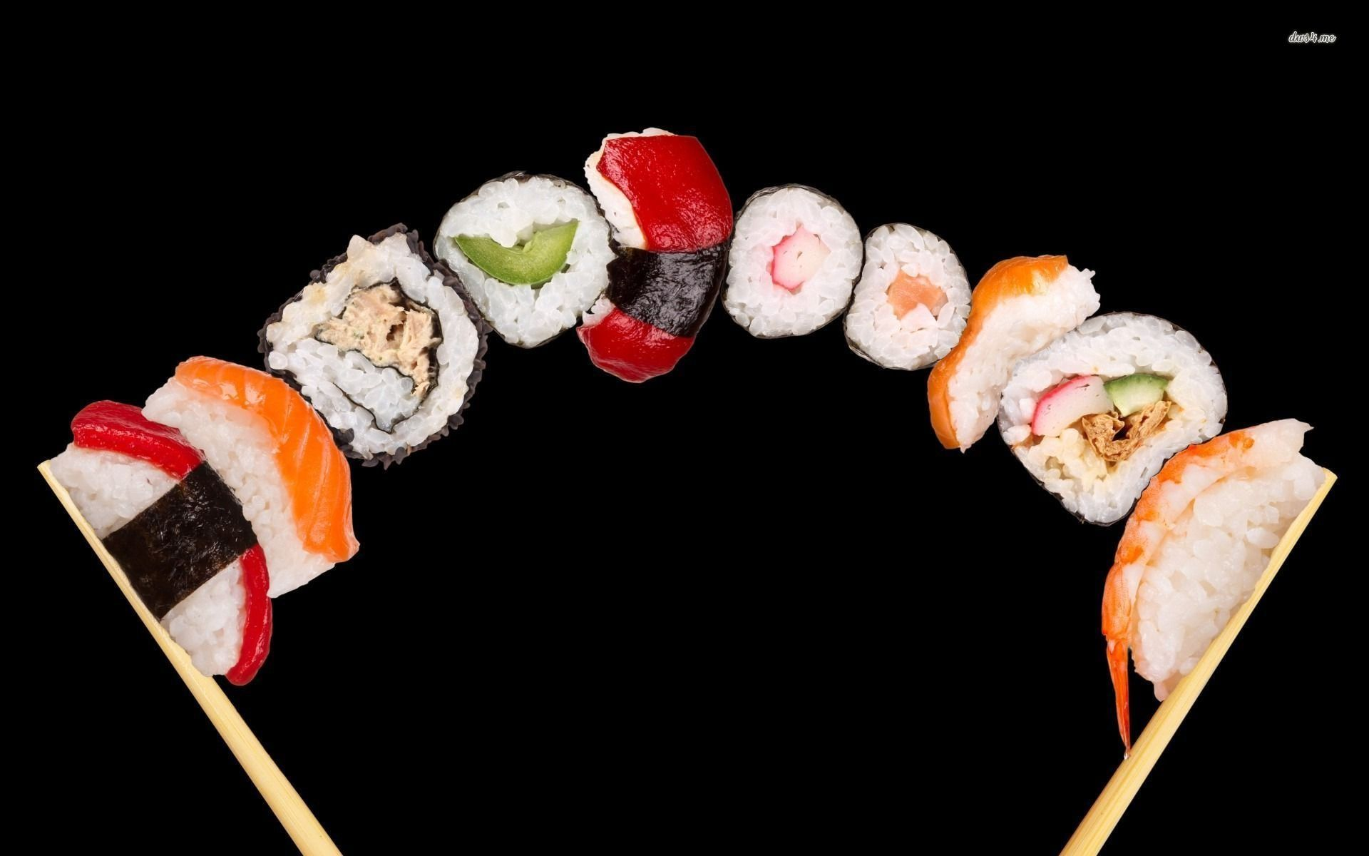 images of sushi rolls