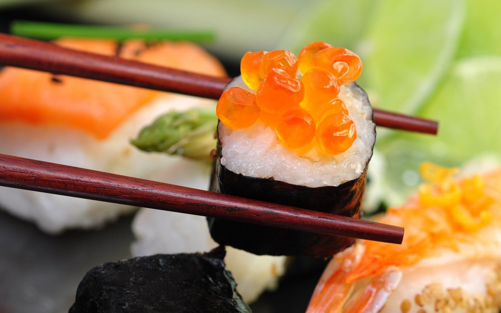 a picture of sushi