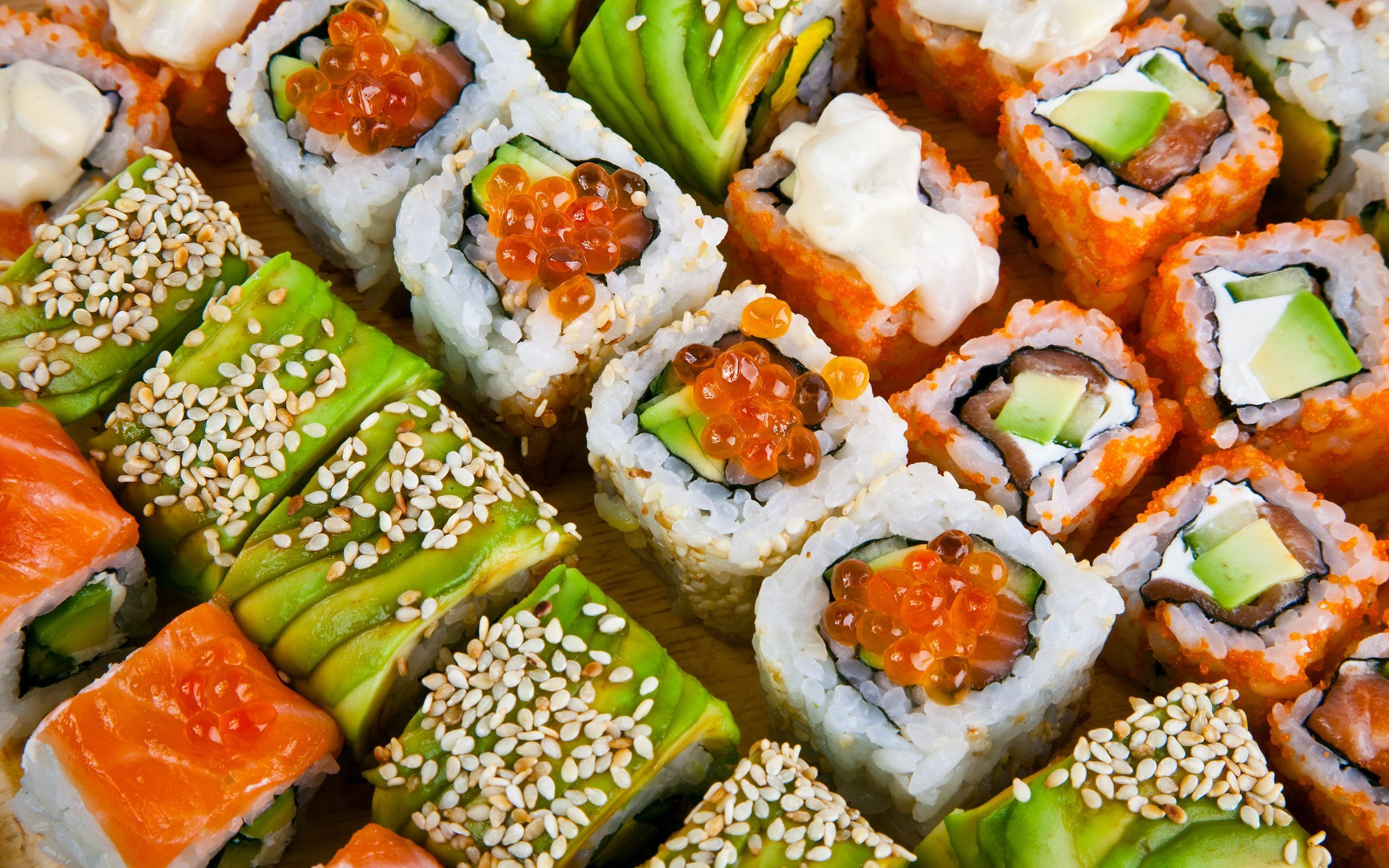 sushi with pictures