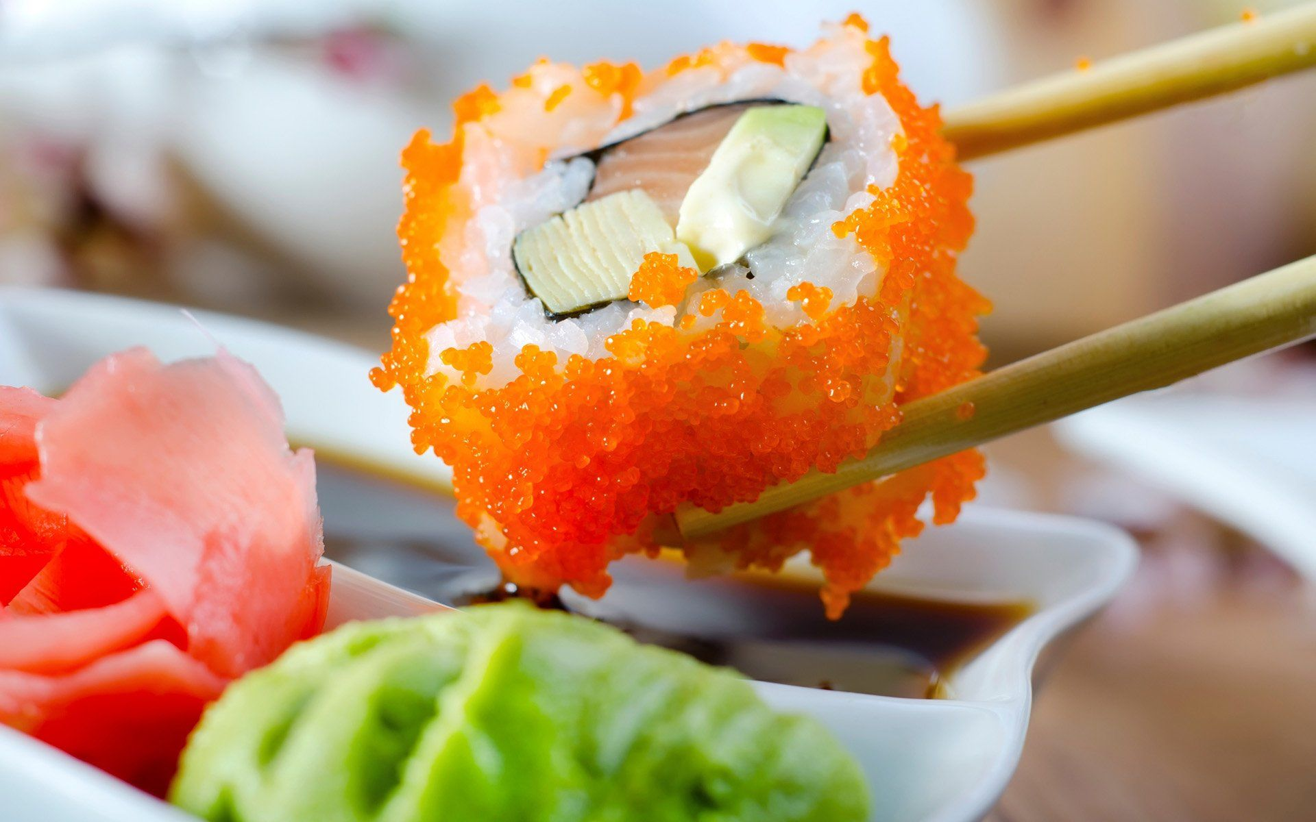 sushi description and pictures