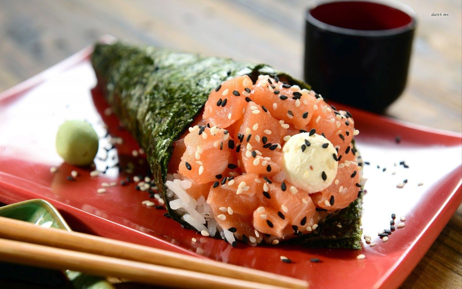 sushi roll pictures with names